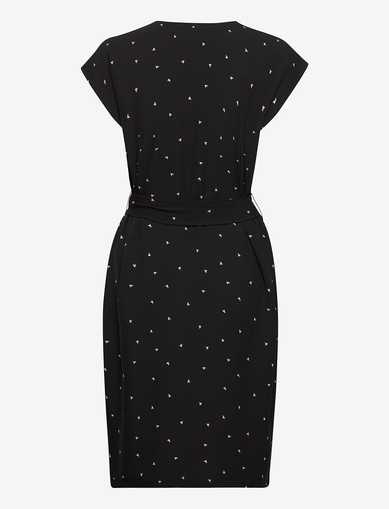 InWear ZanetaIW Dress - Kjoler BLACK SPACED DOTS - Dameklær Spesialtilbud