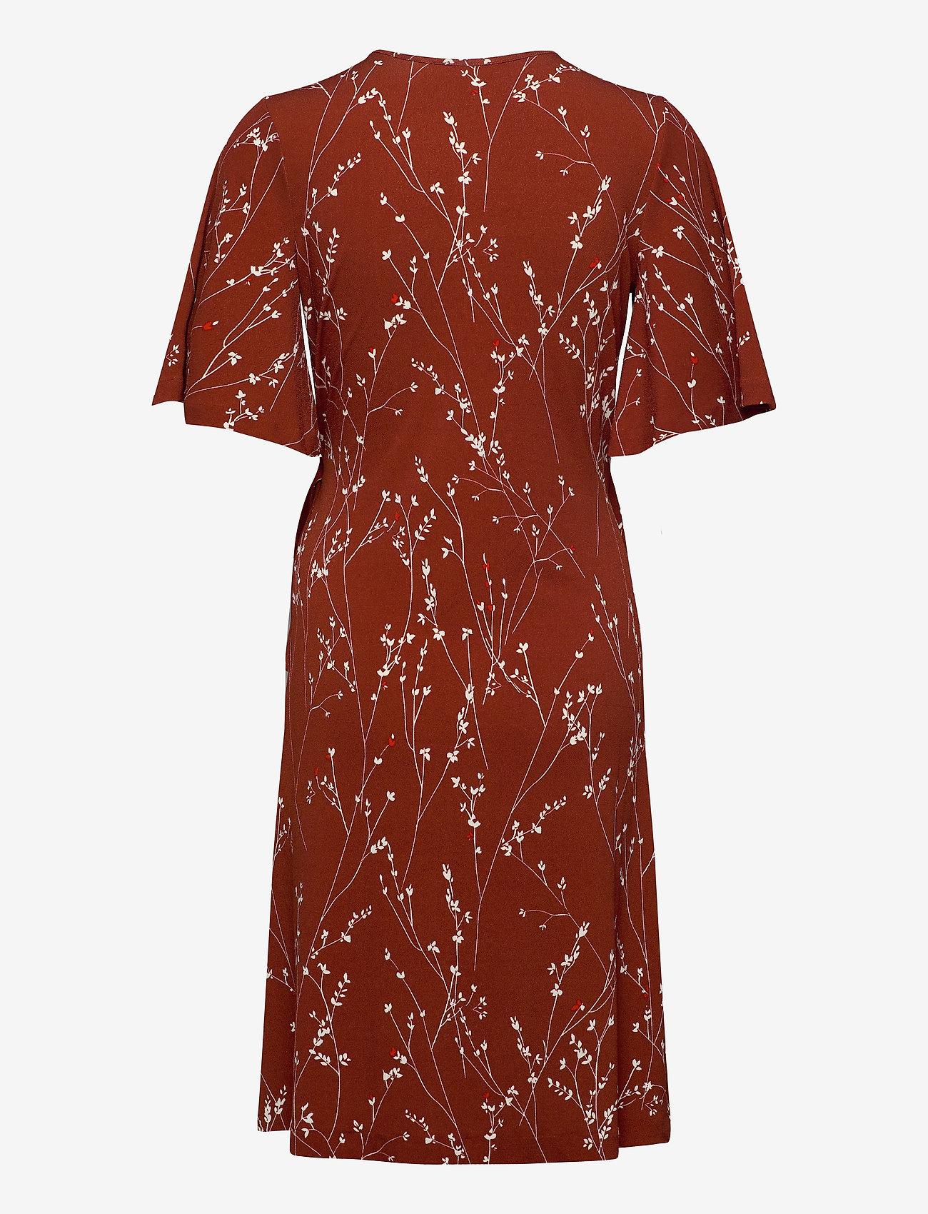 InWear KalvinIW Wrap Dress - Kjoler CAYENNE BRANCHES - Dameklær Spesialtilbud