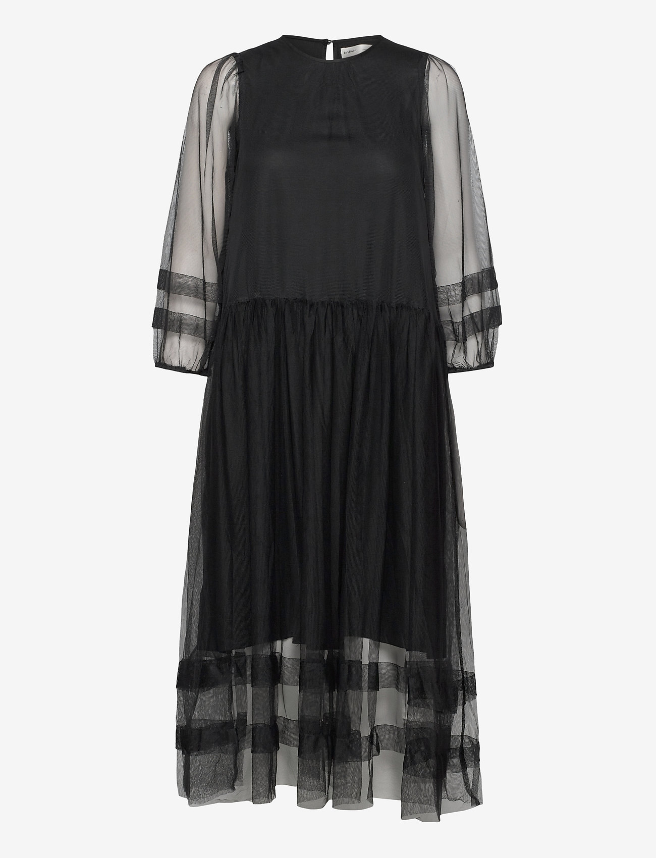 InWear - GeneIW Dress - kveldskjoler - black - 0