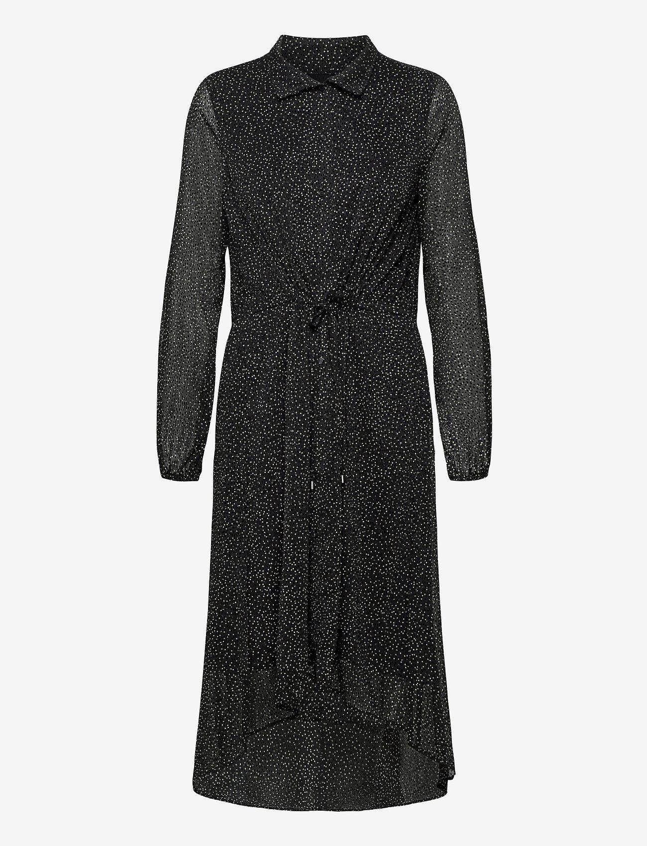 InWear - VilmaIW Dress - alledaagse jurken - black minimal dot - 1