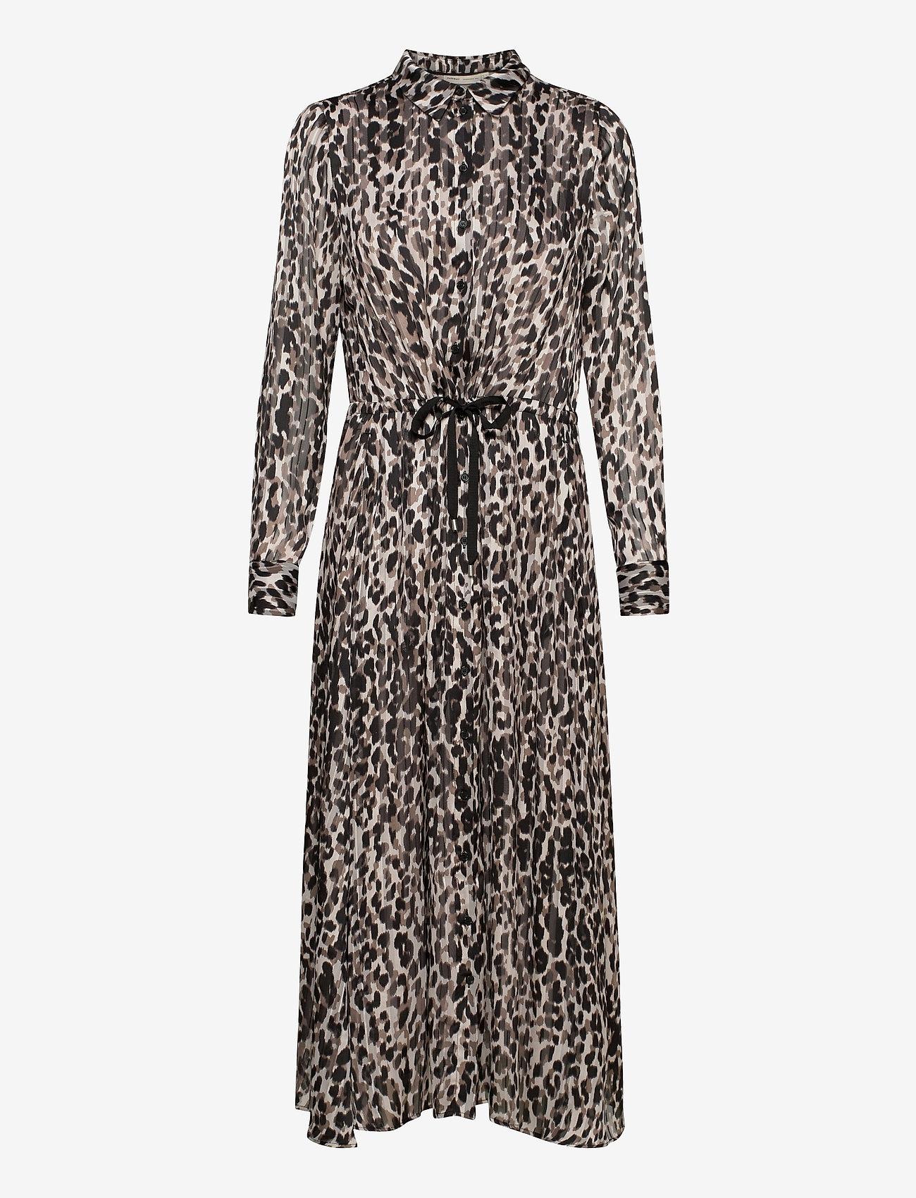 InWear - VengaIW Dress - alledaagse jurken - ash grey wild leo - 1