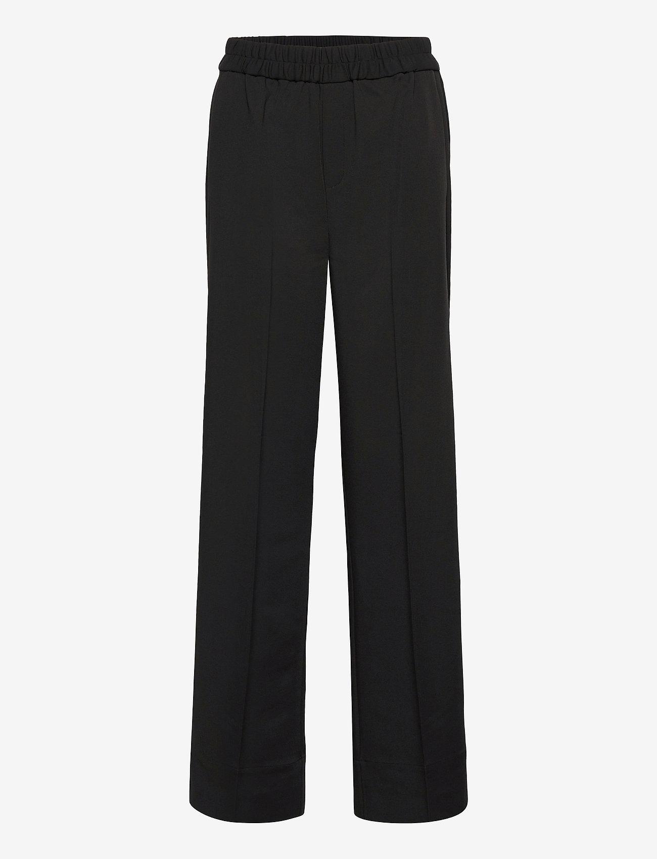 InWear - OraIW Wide Pant - bukser med brede ben - black - 1