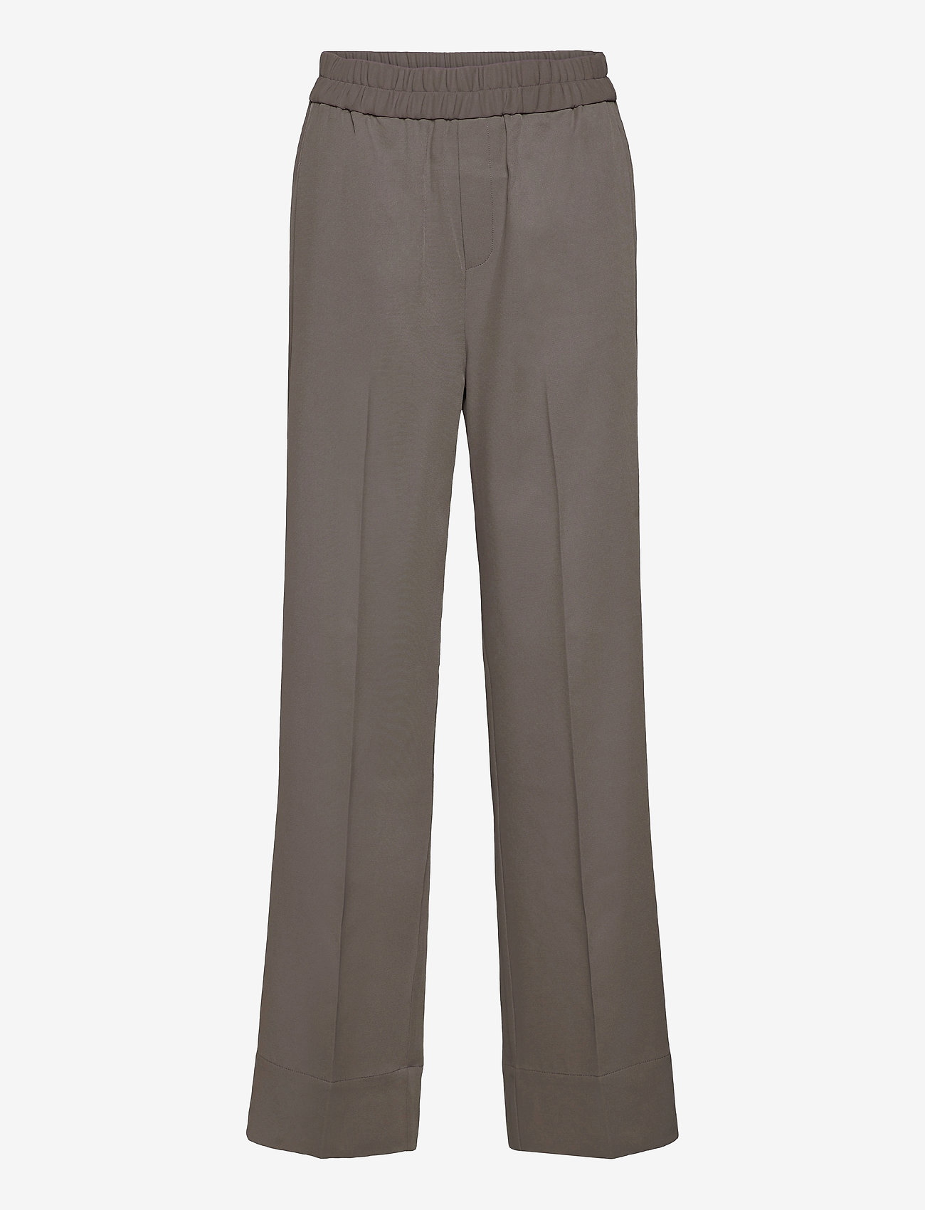 InWear - OraIW Wide Pant - bukser med brede ben - sandy grey - 1