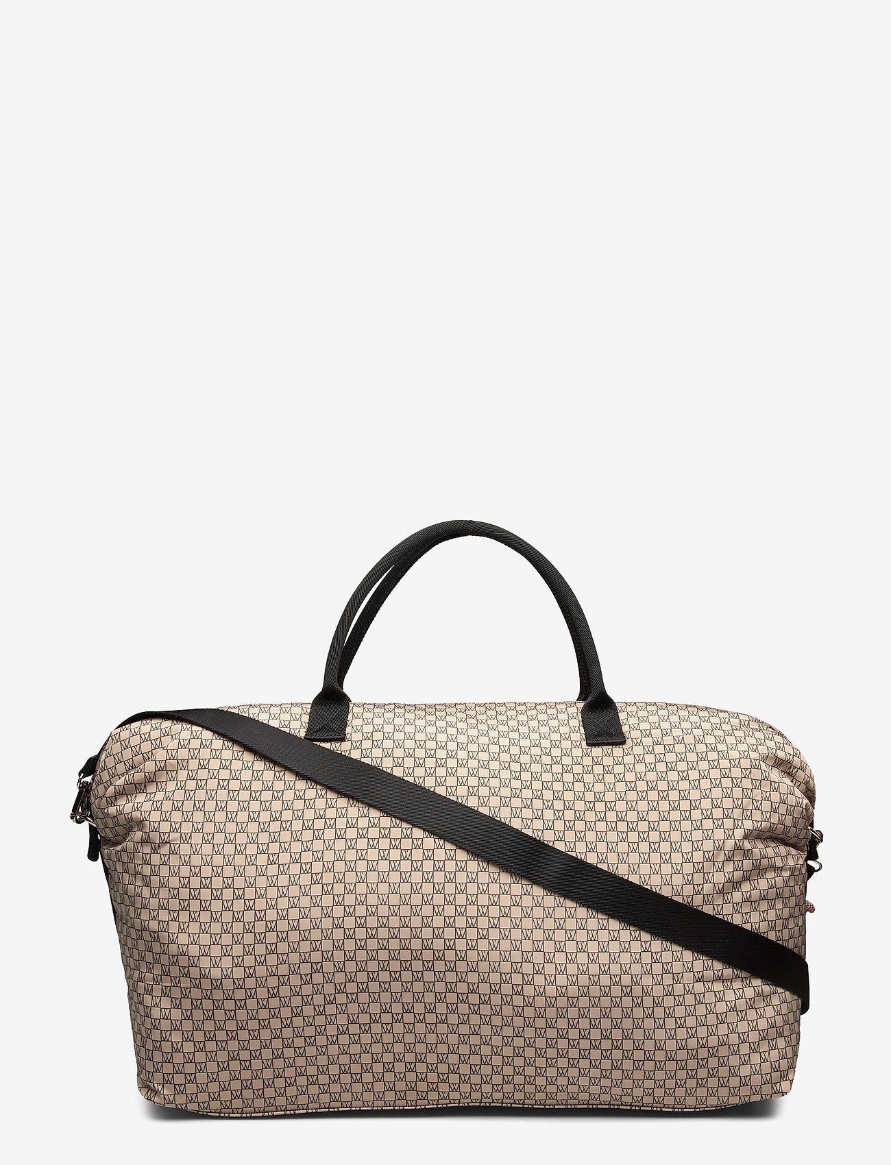 InWear - IW Travel Weekend Bag - reistassen - iw logo beige/black - 0