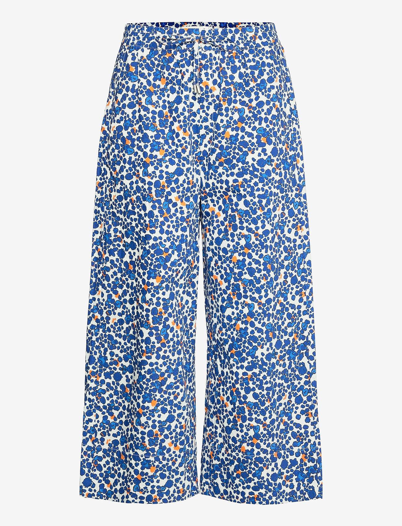 InWear - HarukaIW Pant - bukser med brede ben - dotted flowers - 1