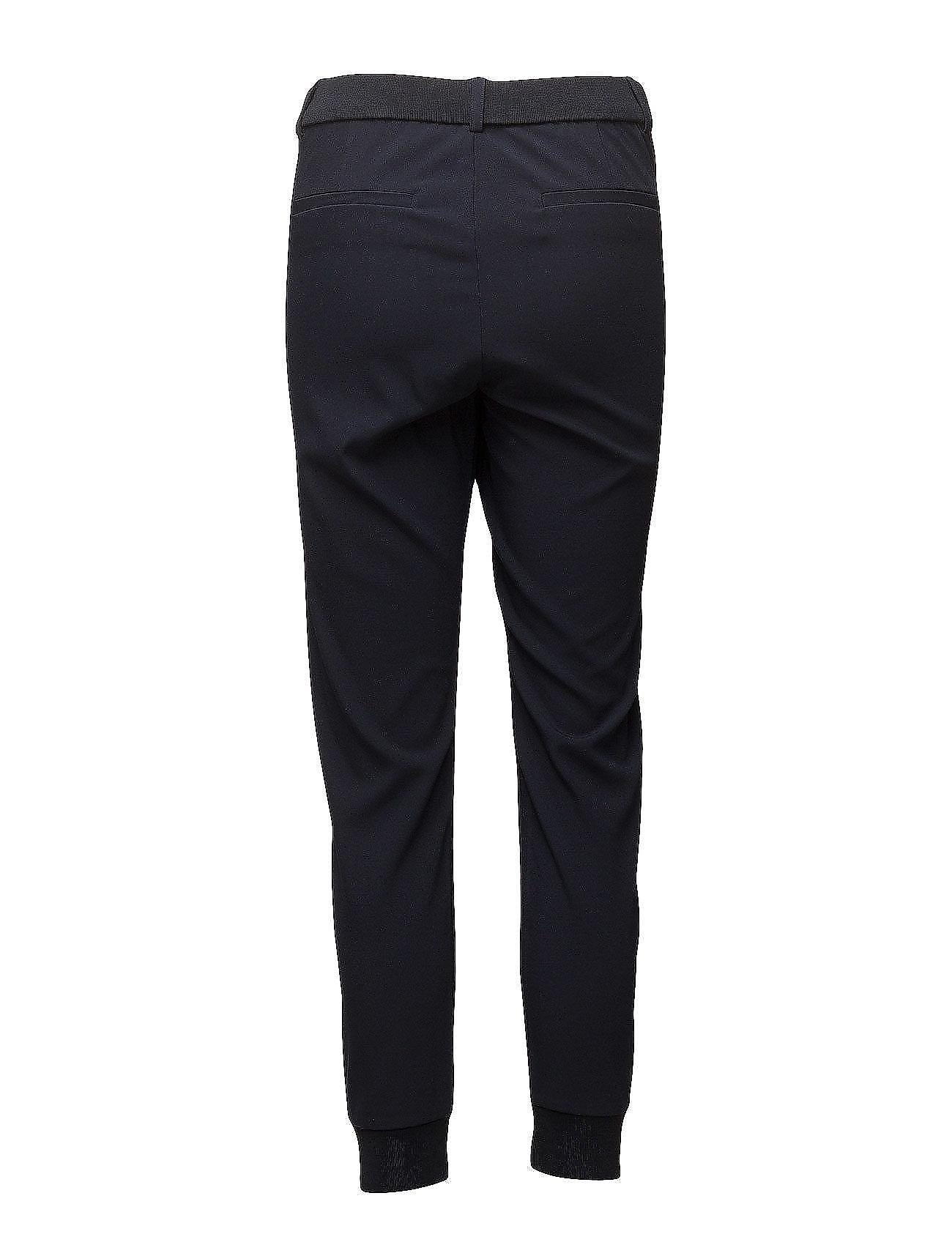 Nica L Pants Bukser Med Lige Ben Sort InWear