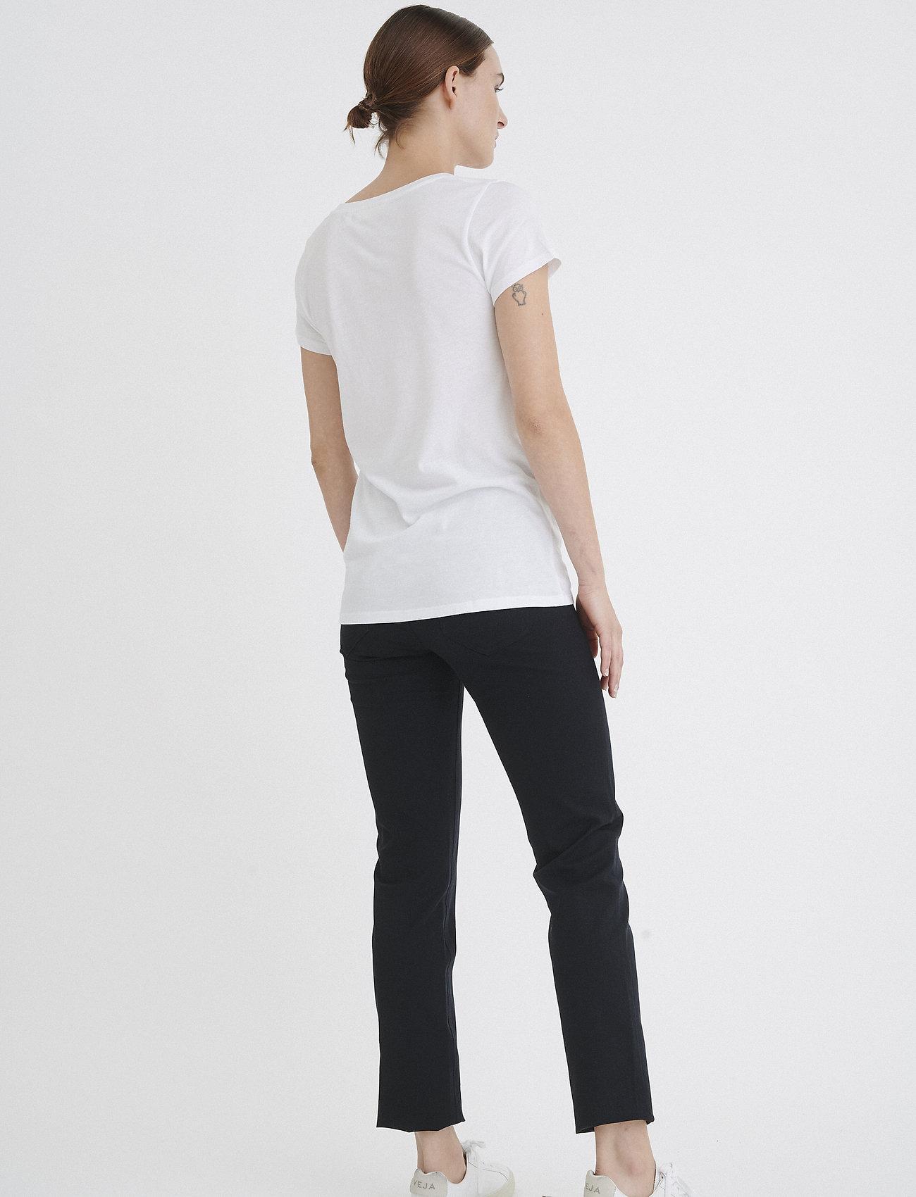 InWear Rena V Tshirt KNTG - T-shirts & topper PURE WHITE - Dameklær Spesialtilbud