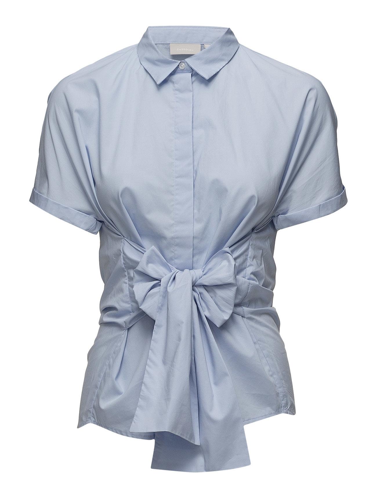 ff67d05ef89 InWear kortærmede skjorter – Gryta Shirt til dame i BRUNNERA BLUE ...
