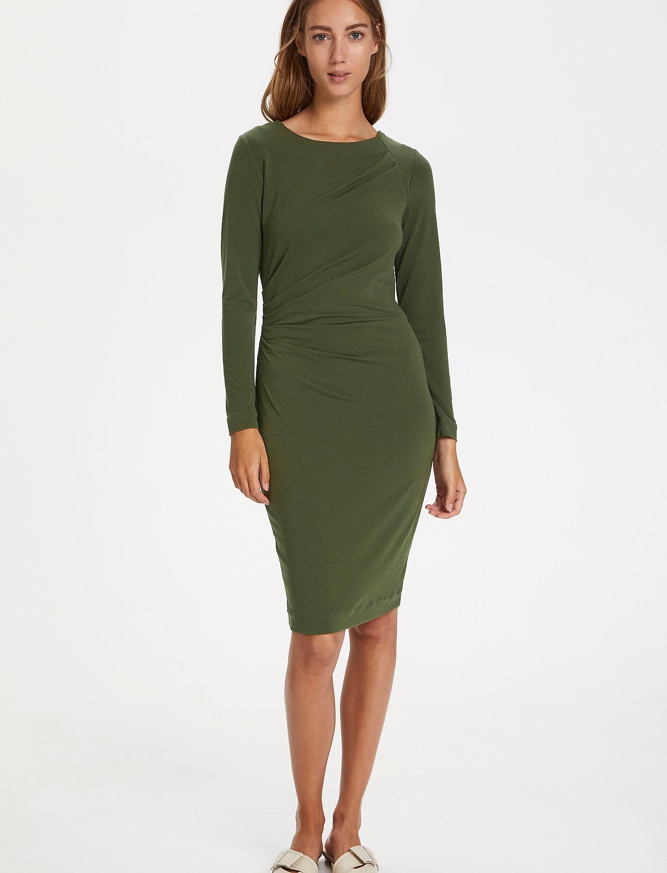 InWear Trude Dress - Kjoler BEETLE GREEN - Dameklær Spesialtilbud