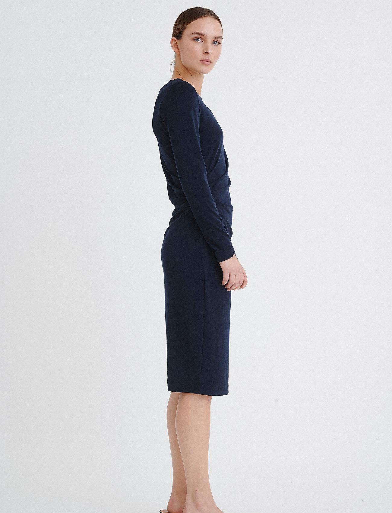 InWear Trude Dress - Kjoler MARINE BLUE - Dameklær Spesialtilbud