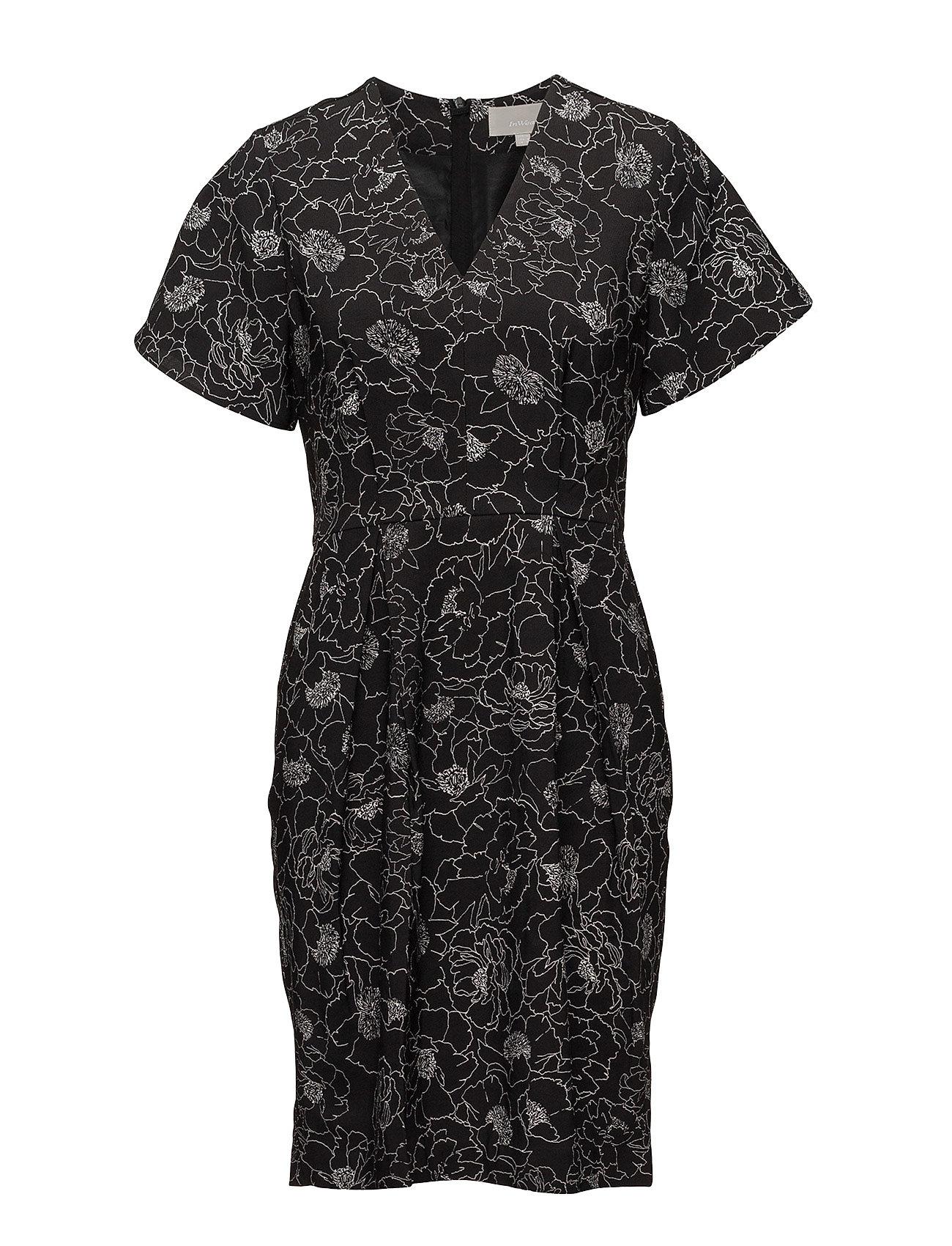 904572329c25 InWear Beretta Short Dress Lw (Pencil Flower Black)