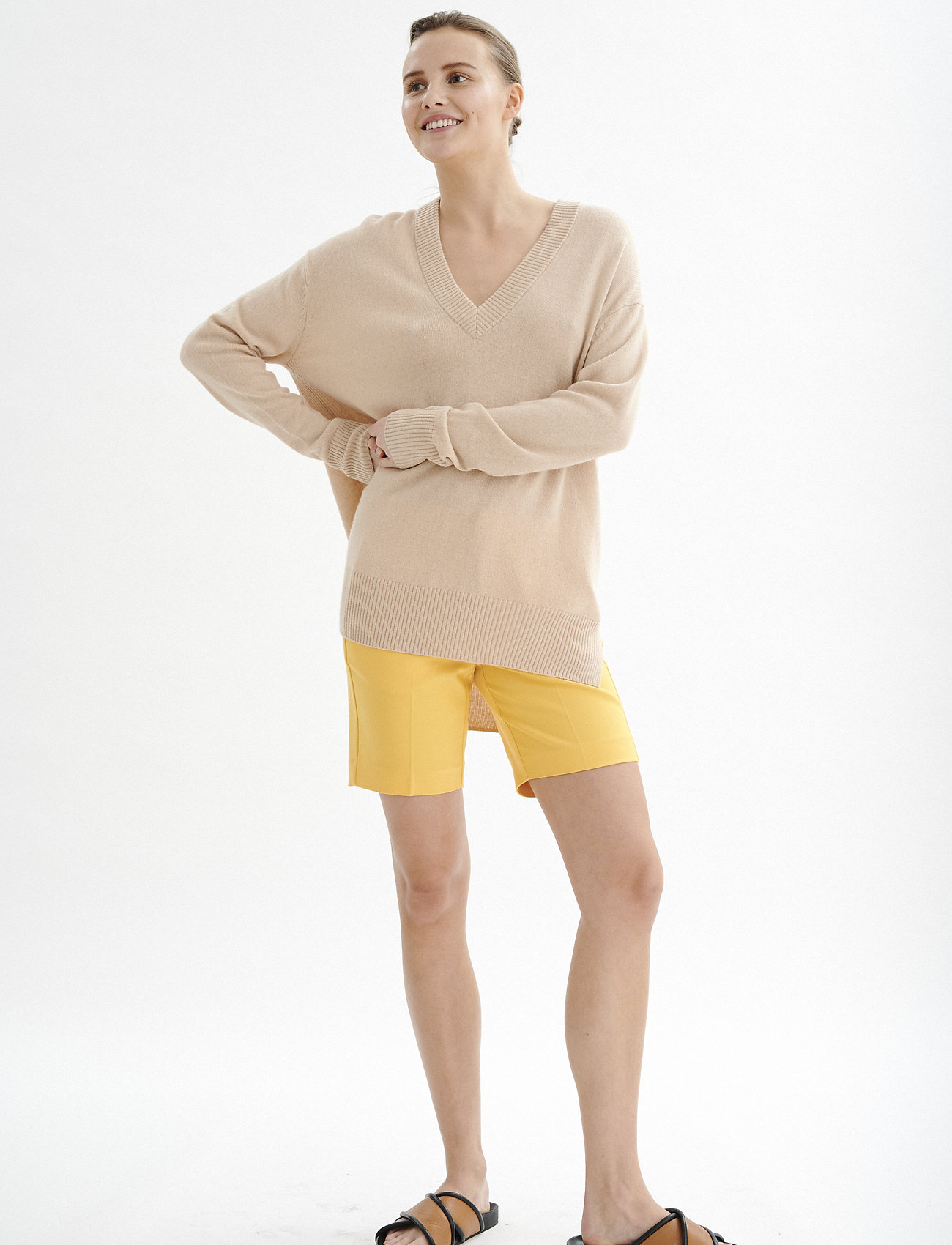 InWear Zella Shorts - Shorts GOLDEN YELLOW - Dameklær Spesialtilbud