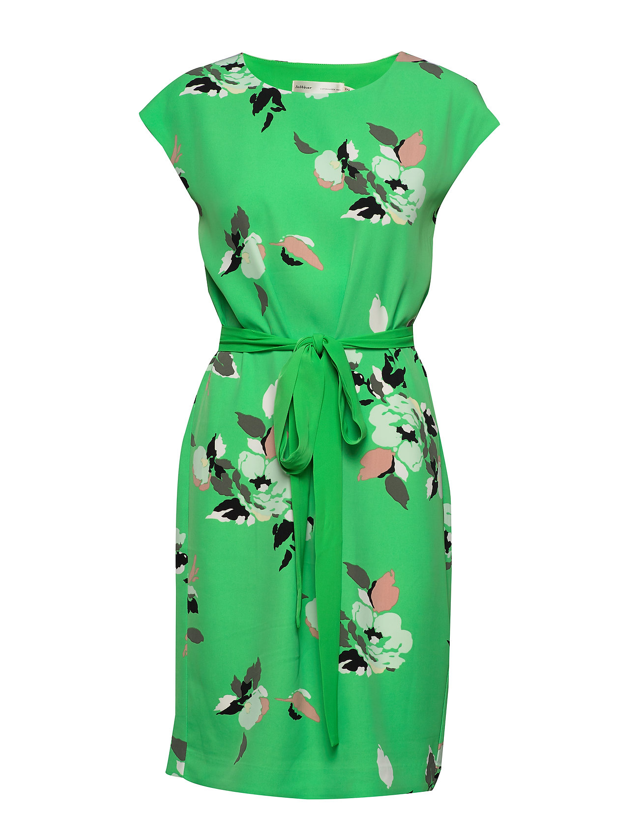 InWear Saffron Dress - GREEN SPRING FLOWER