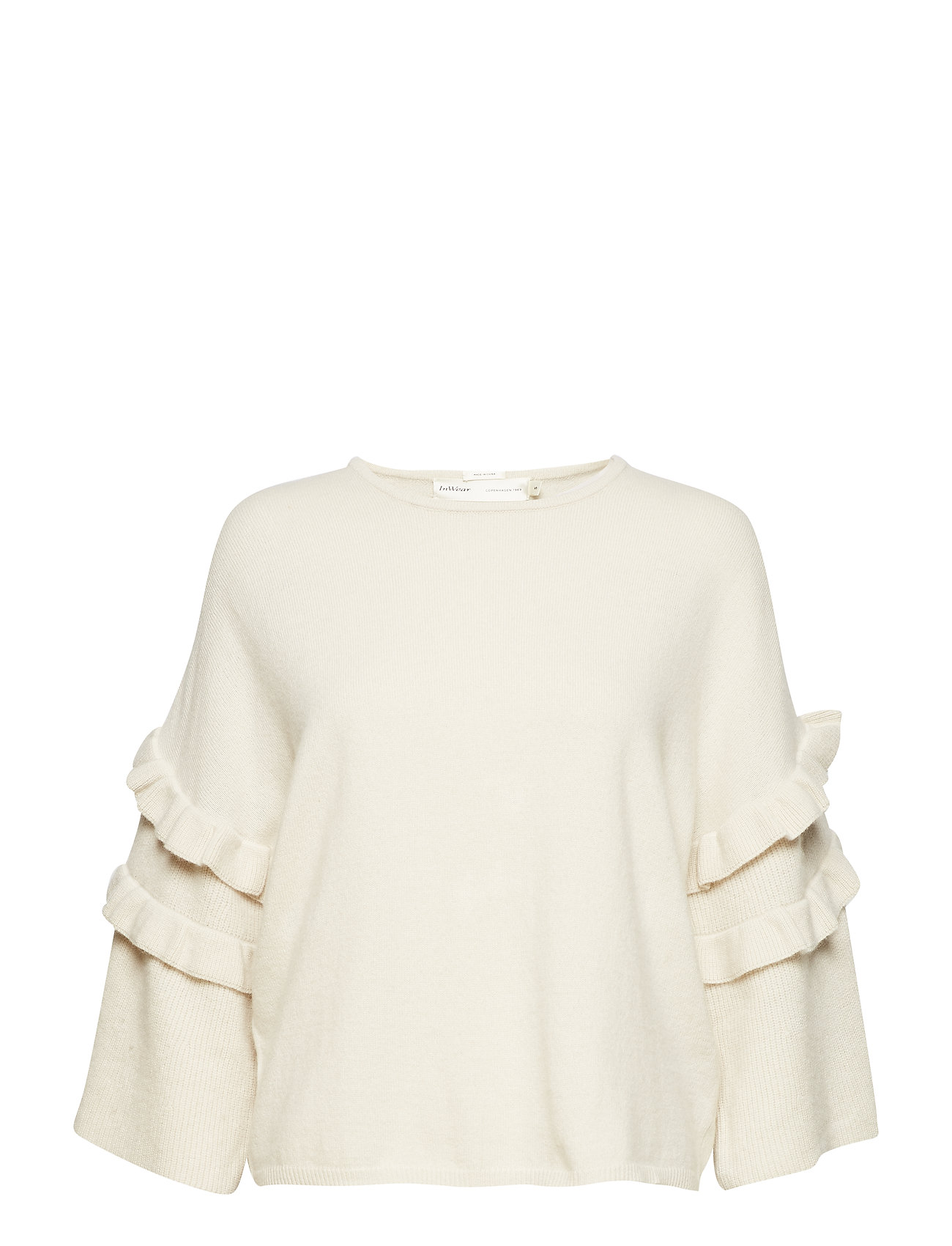 Image of Fabianne Flounce Pullover Knit (3061013863)