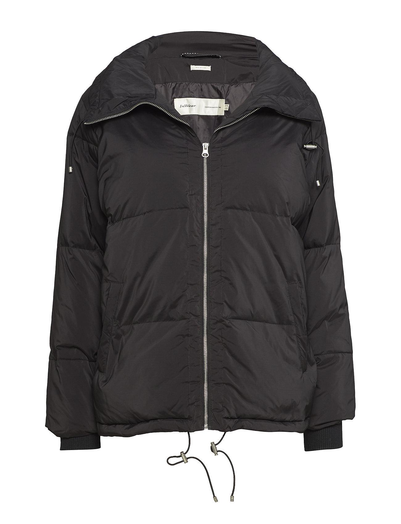 InWear Sade Down Short Coat OW - BLACK