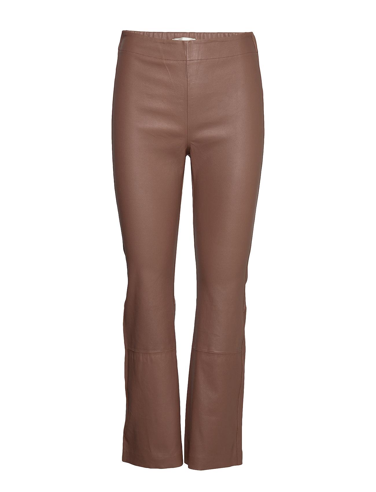 Image of Cedar Pant Bukser Med Lige Ben Brun InWear (3309709919)