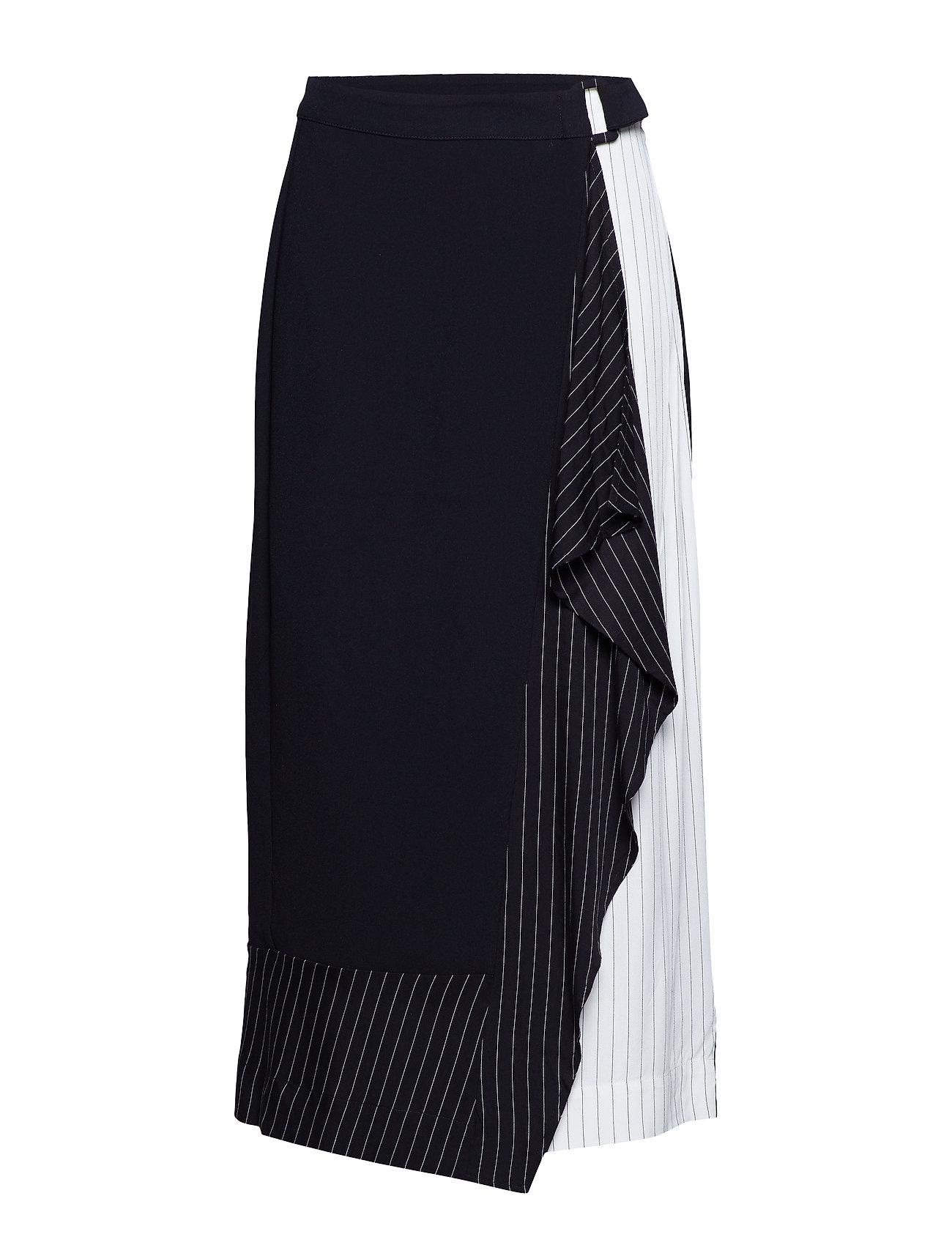 InWear Hope Skirt - BLACK AND WHITE