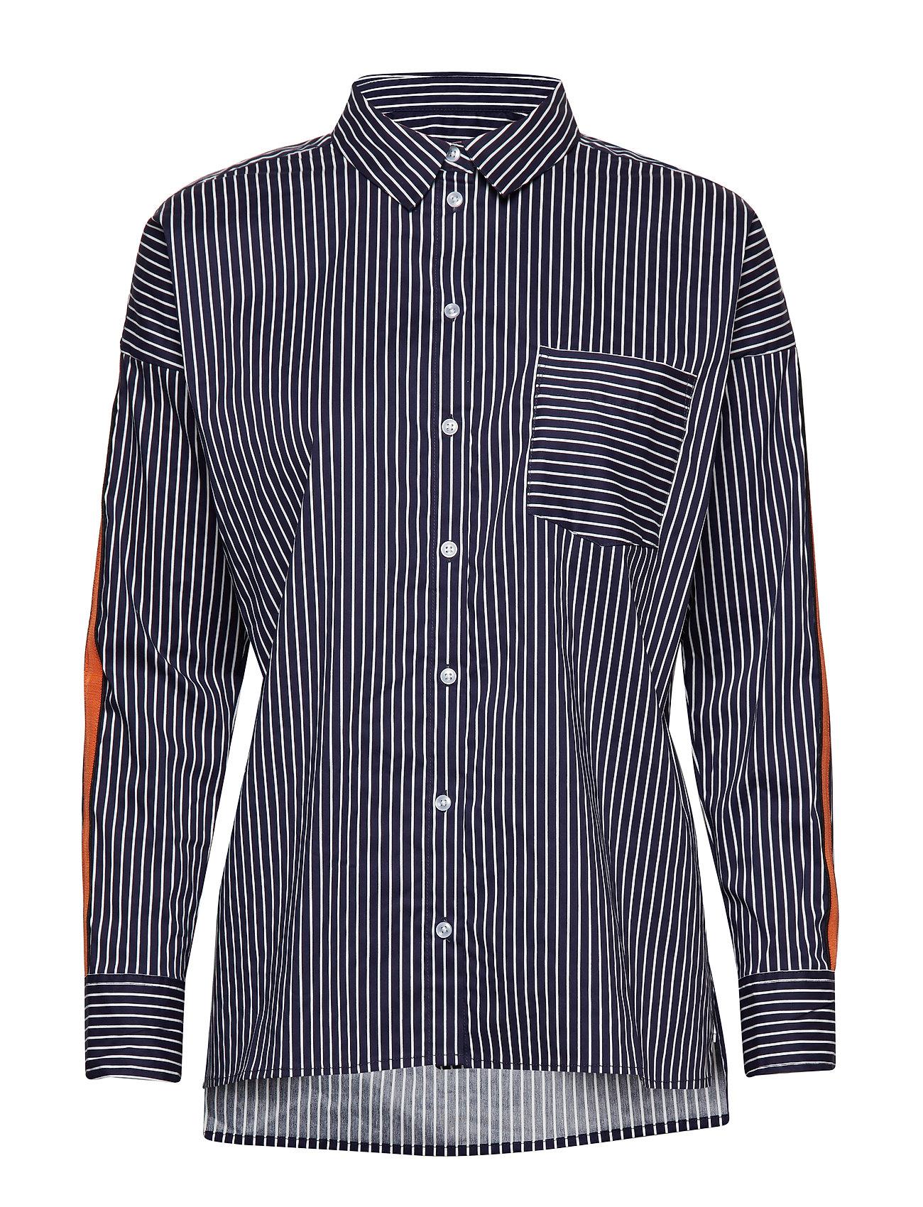 InWear Niche Shirt - YARN DYED BLUE STRIPES