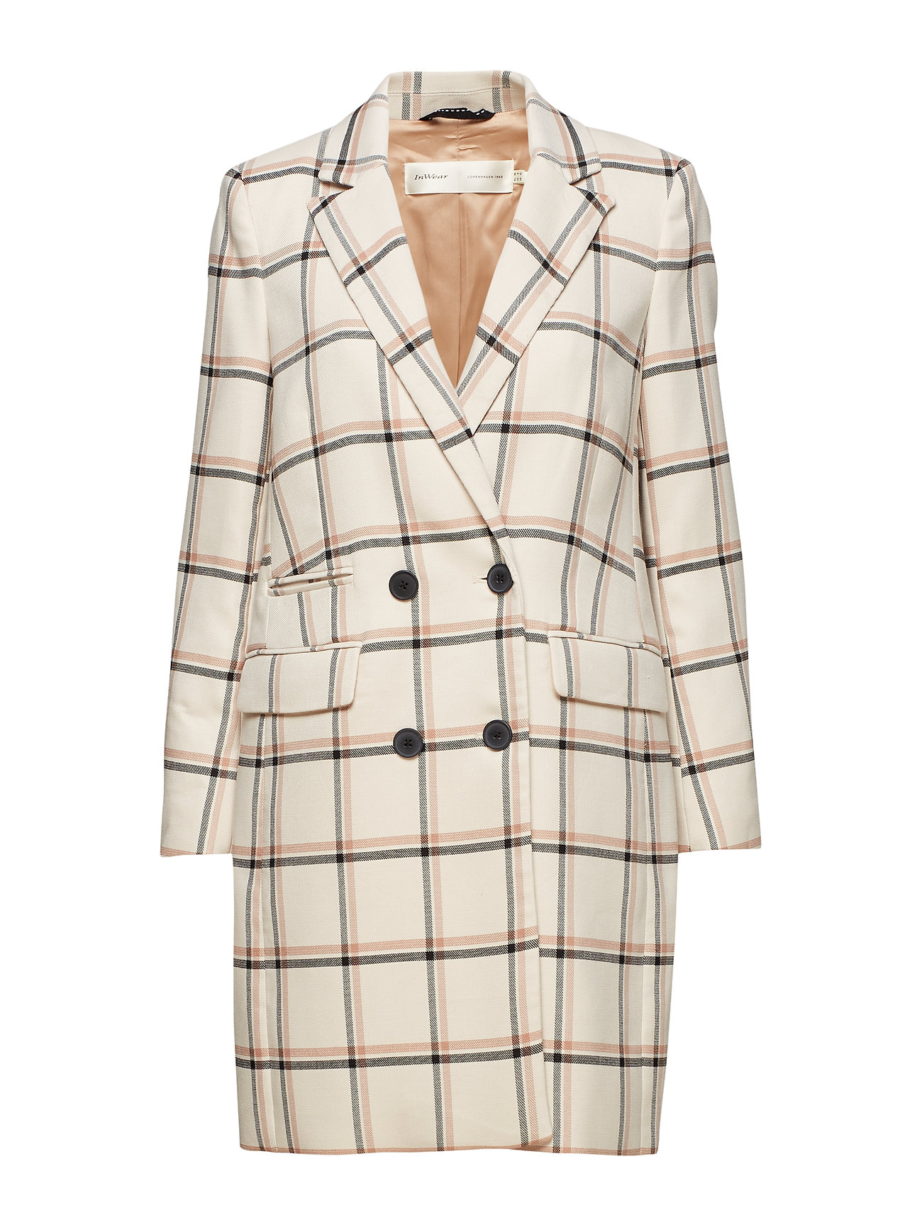 InWear Urbi Coat - LARGE CHECK