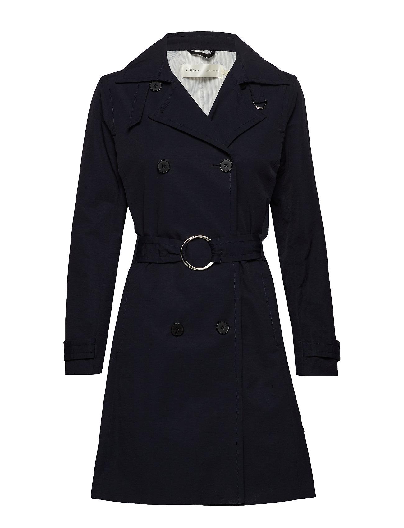 InWear Undine Coat - MARINE BLUE