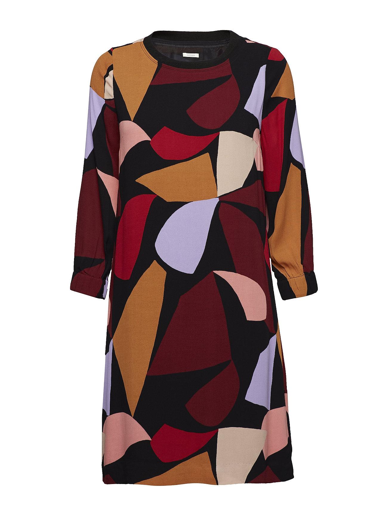 Image of Vexi Short Dress Lw Knælang Kjole Sort INWEAR (3072430057)