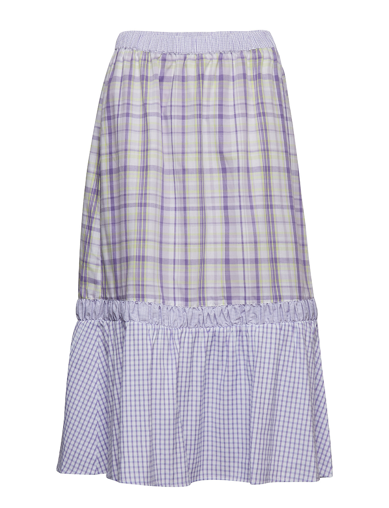 InWear Nita Skirt - MIX PURPLE ROSE CHECK