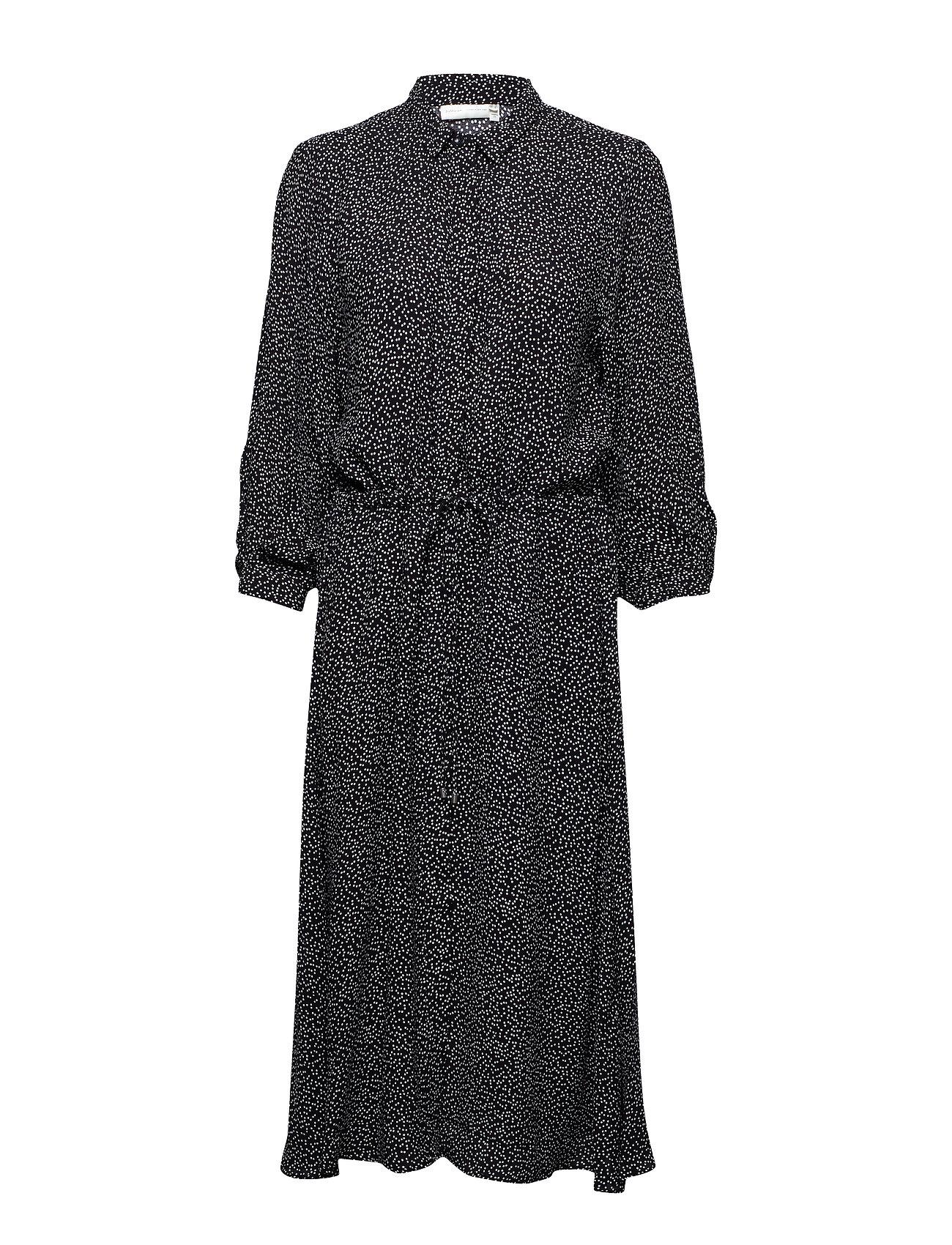 InWear Harlow Dress - BLACK MINIMAL DOT