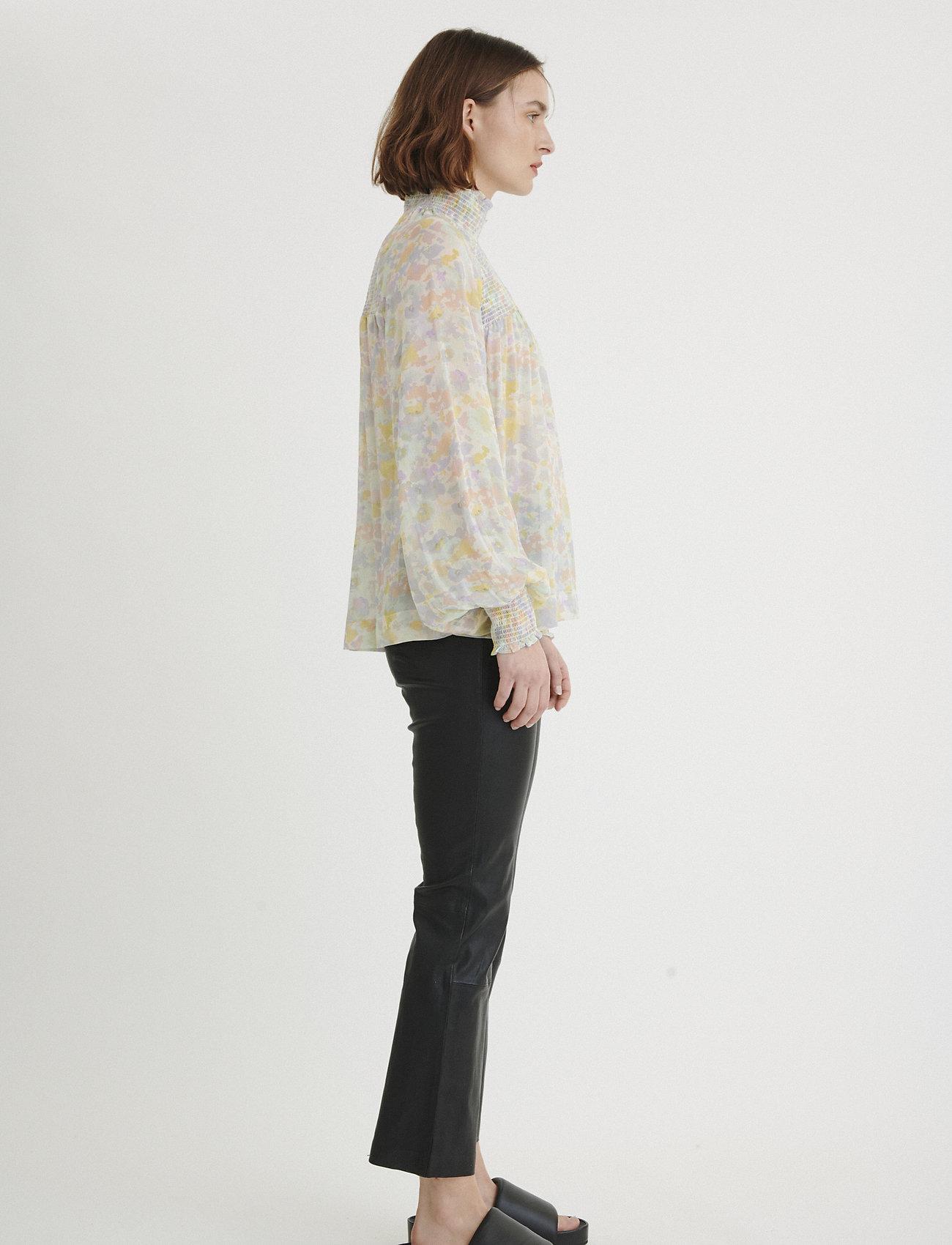 InWear Hayden Blouse - Bluser & Skjorter PASTEL WATERCOLOUR FLORALS - Dameklær Spesialtilbud
