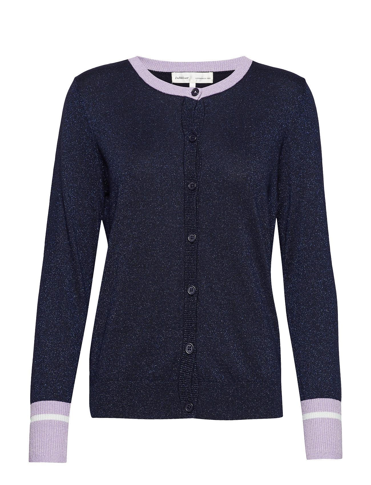 8a8821b4 InWear cardigans – Zabine Cardigan til dame i MARINE BLUE - Pashion.dk