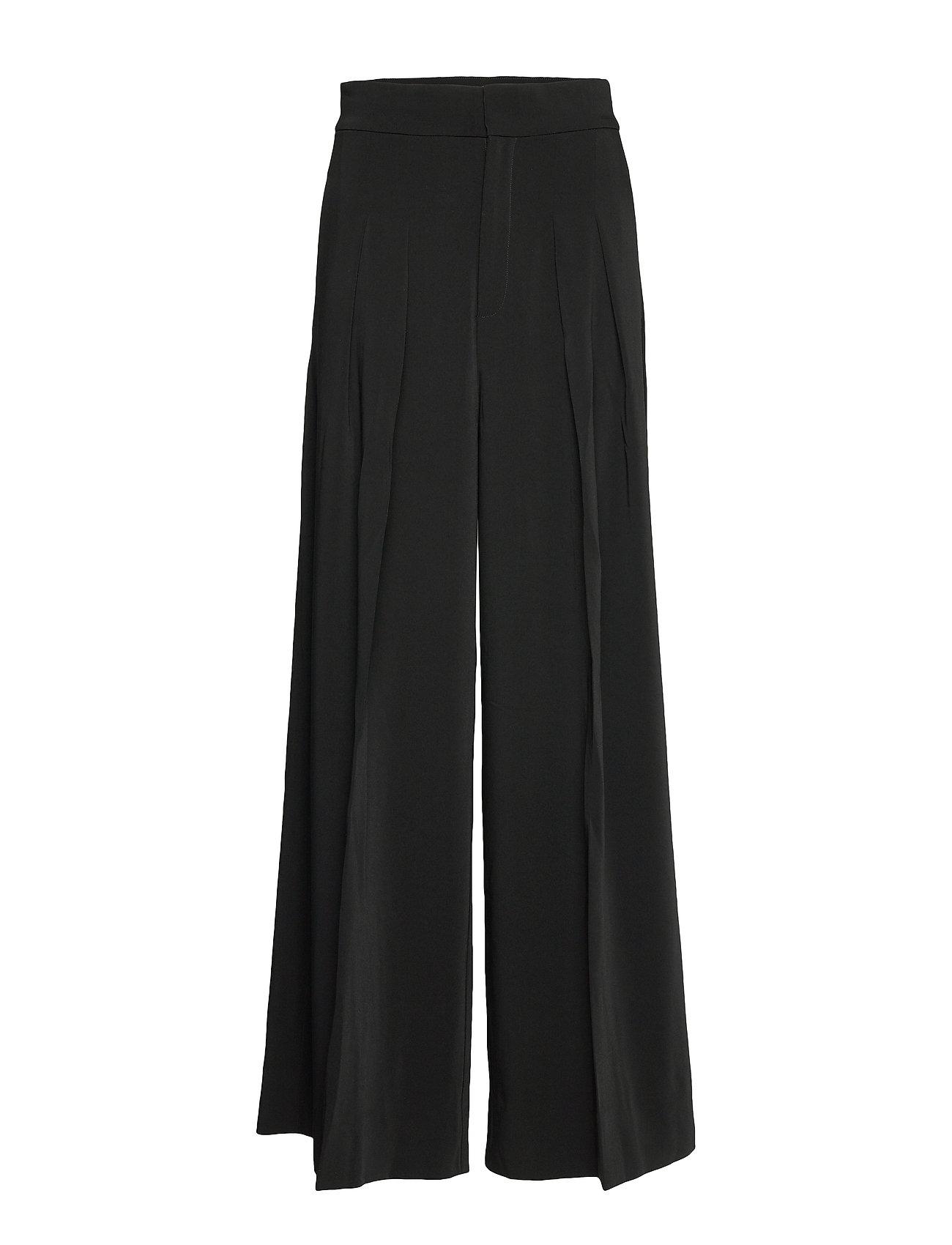 InWear Abra Wide Pant - BLACK