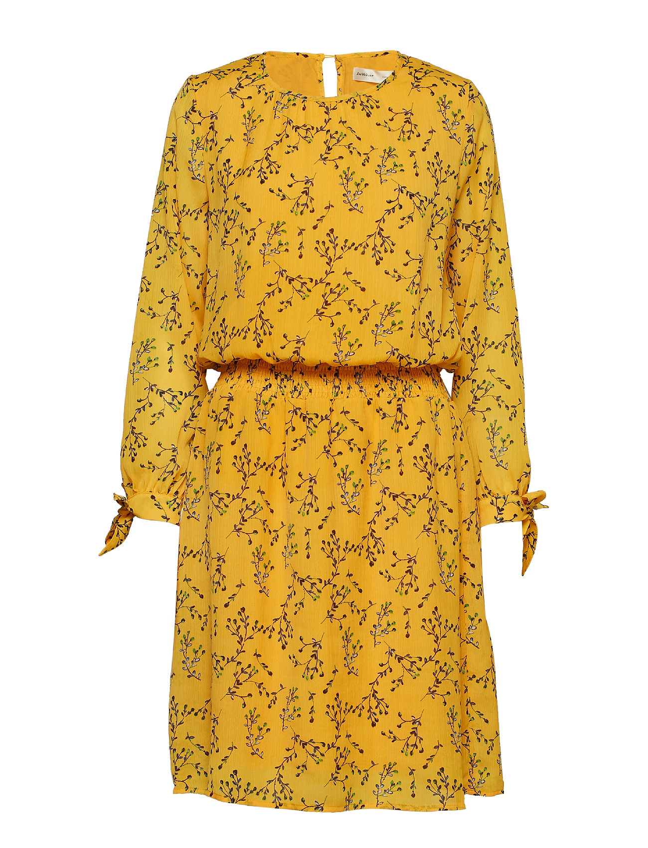 InWear Zandra Dress - YELLOW FLORAL BRANCH