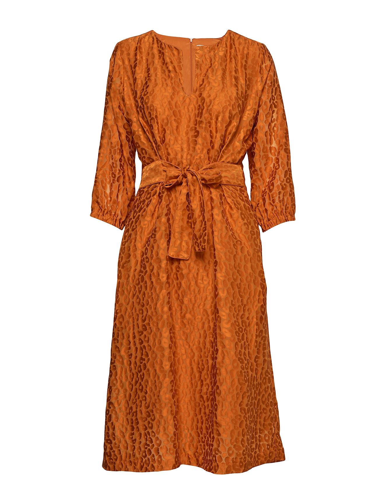 InWear Hudson Dress - GOLD FLAME
