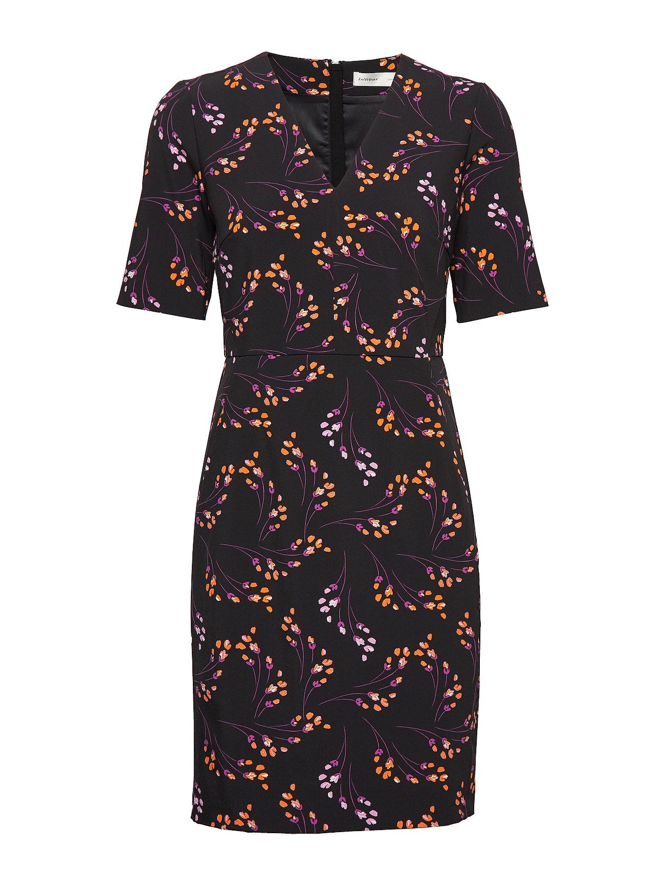 InWear Uli V-neck Dress - MINI FLOWERS
