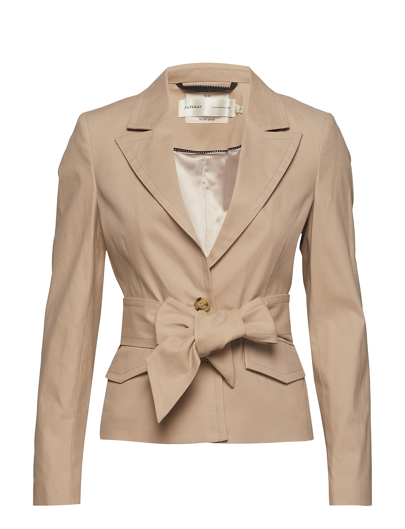 ee9b7b8d CAFE AU LAIT InWear Iw50 16 Christy Jacket blazere for dame - Pashion.dk