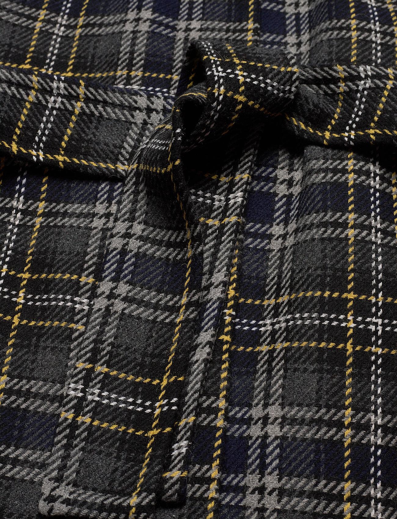Zeolaiw Zip Coat (Black / Grey Check) (1380 kr) - InWear