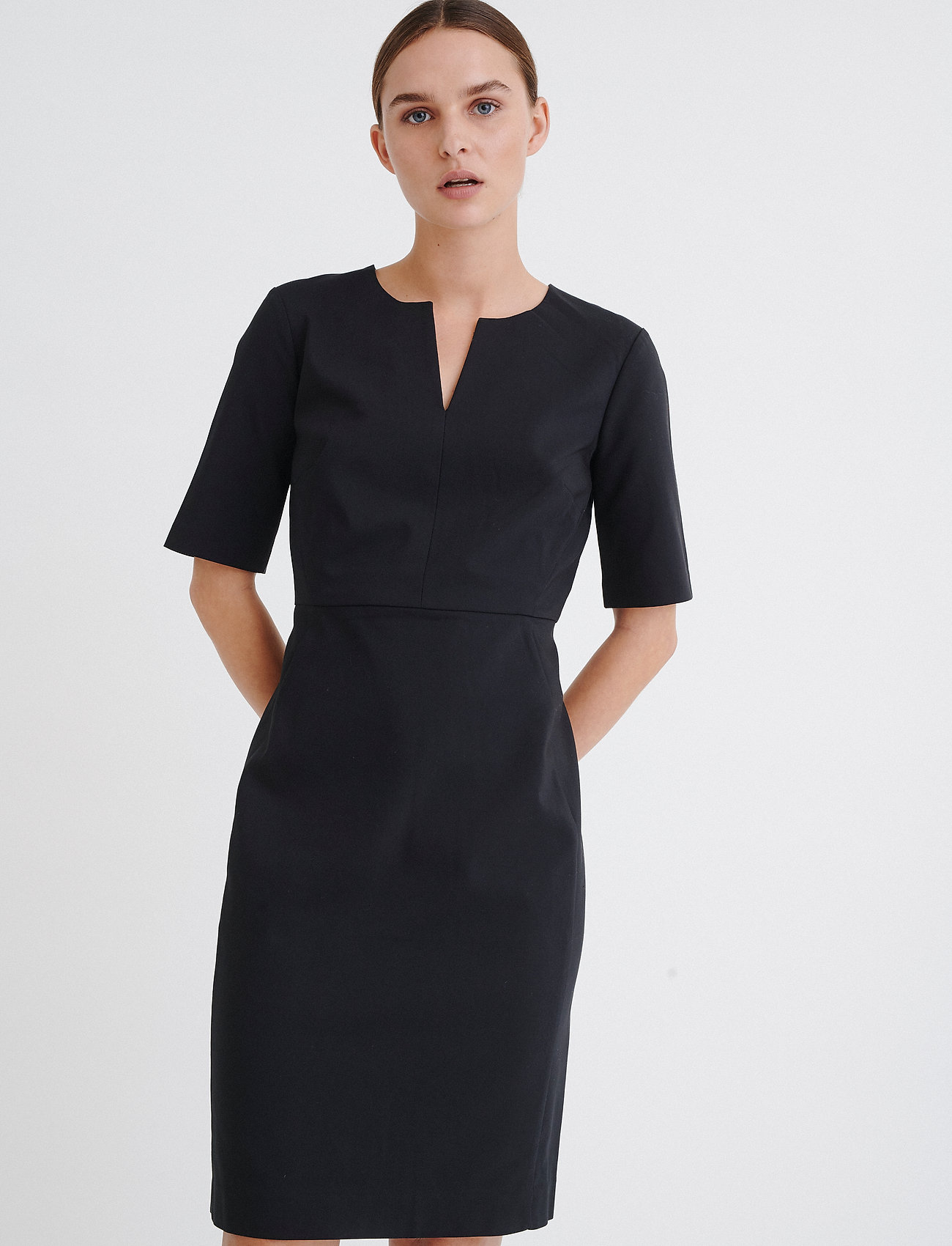 InWear - Zella Dress - cocktailklänningar - black - 0