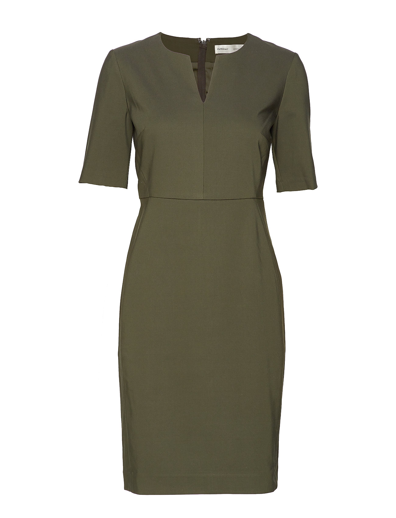 InWear Zella Dress - OLIVE LEAF