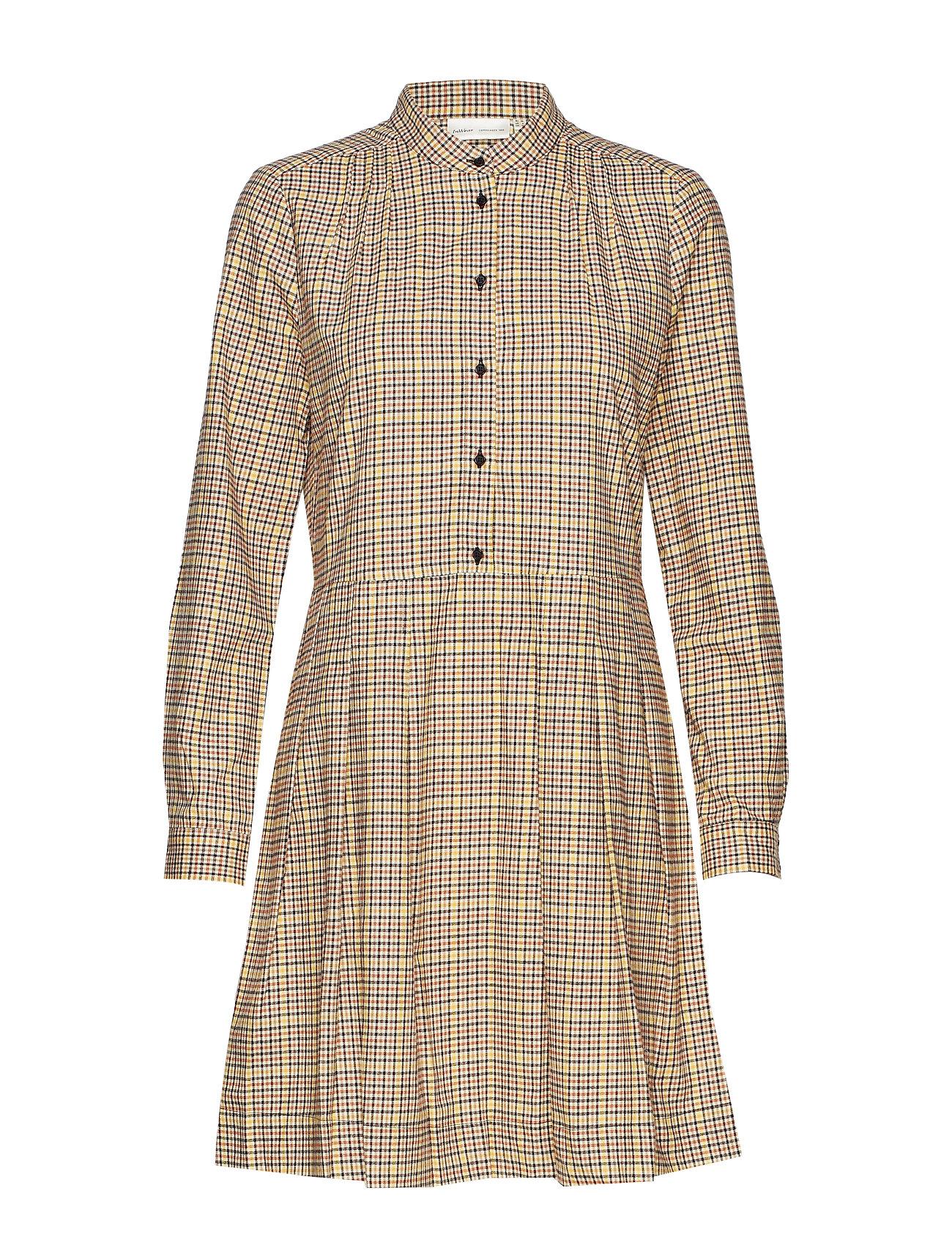 InWear KellisIW Dress - SPECTRA YELLOW MINI CHECK