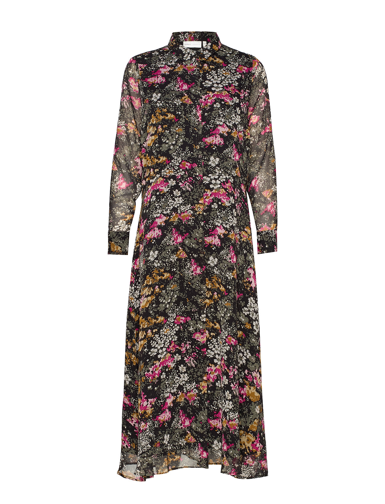 InWear KairaIW Long Dress - FLOWER EXPLOSION
