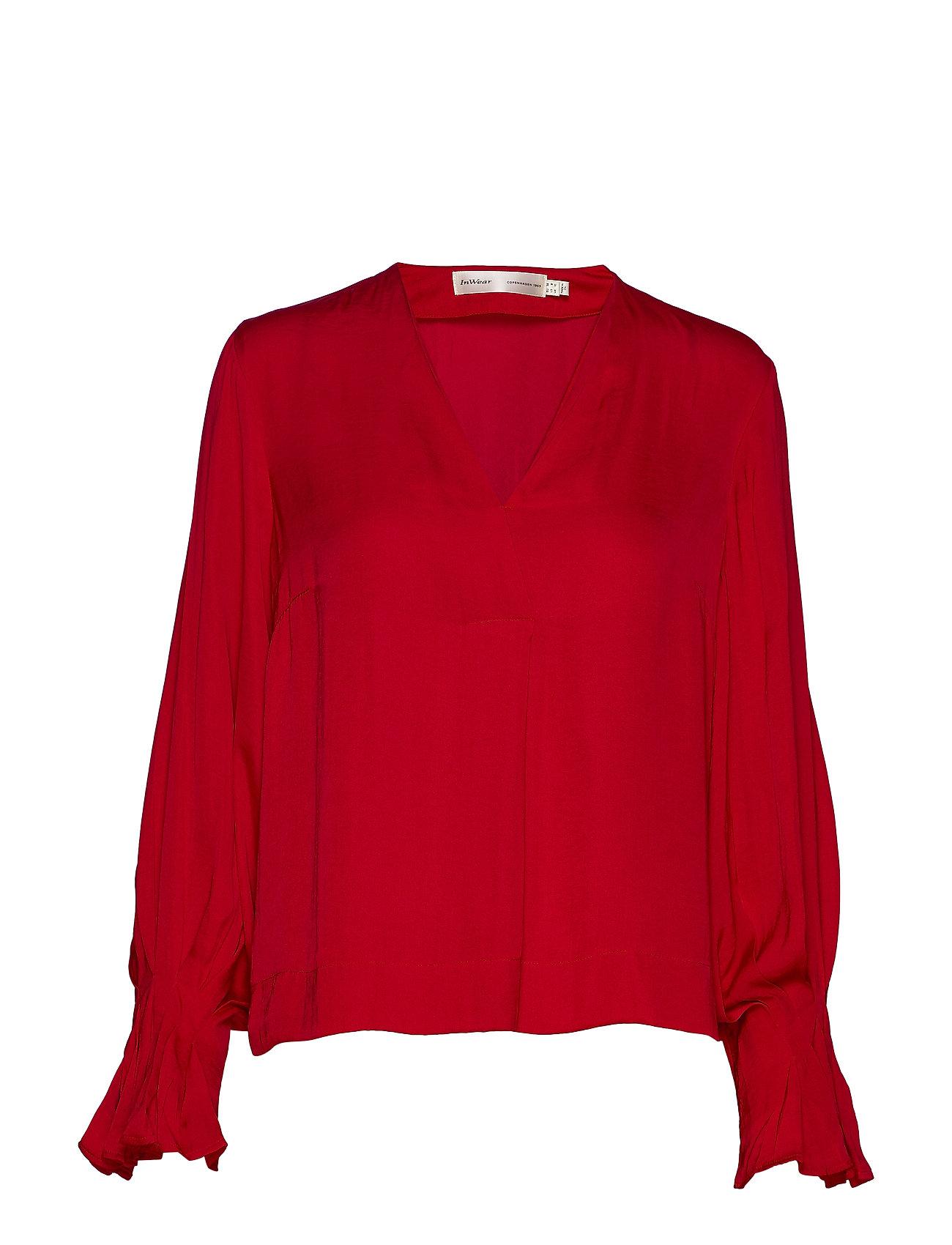 InWear ClaraIW Blouse - REAL RED