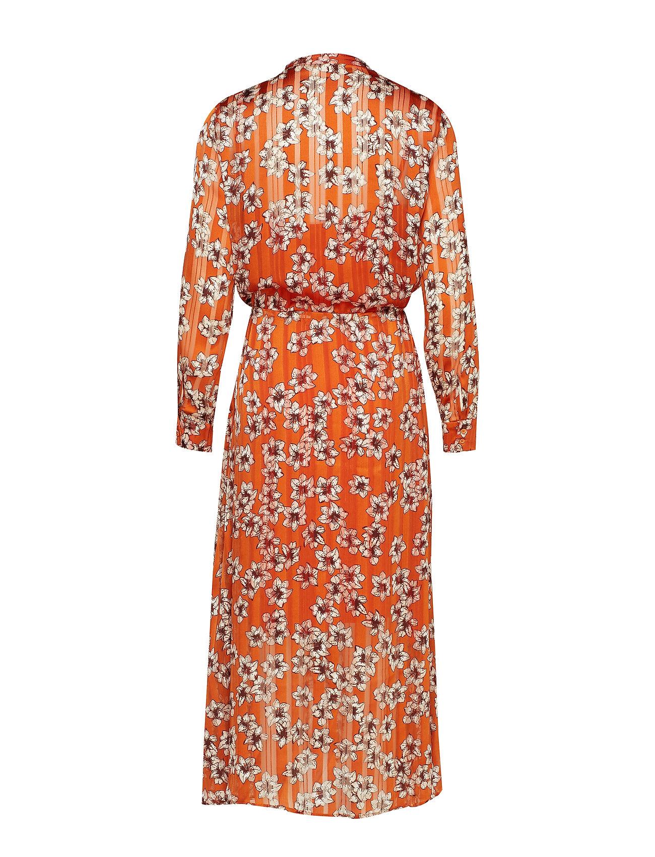 FlowerInwear Hibiscus Zilmaiw Hilma Dressgold Flame mn0vNwOyP8