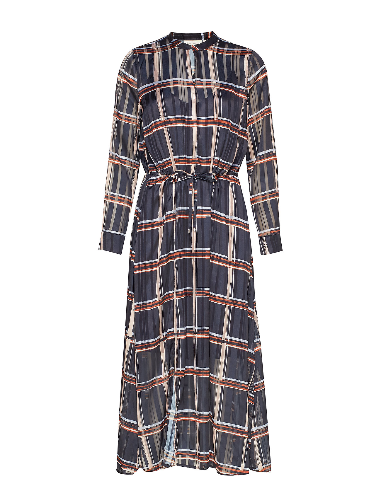 InWear ZilmaIW Hilma Dress - MARINE BLUE CHECK