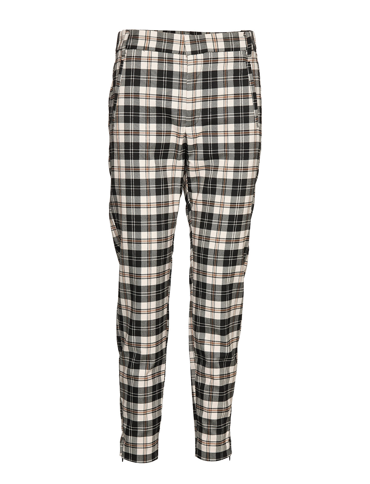 InWear JannahIW Pant Nica Fit - BLACK AND WHITE