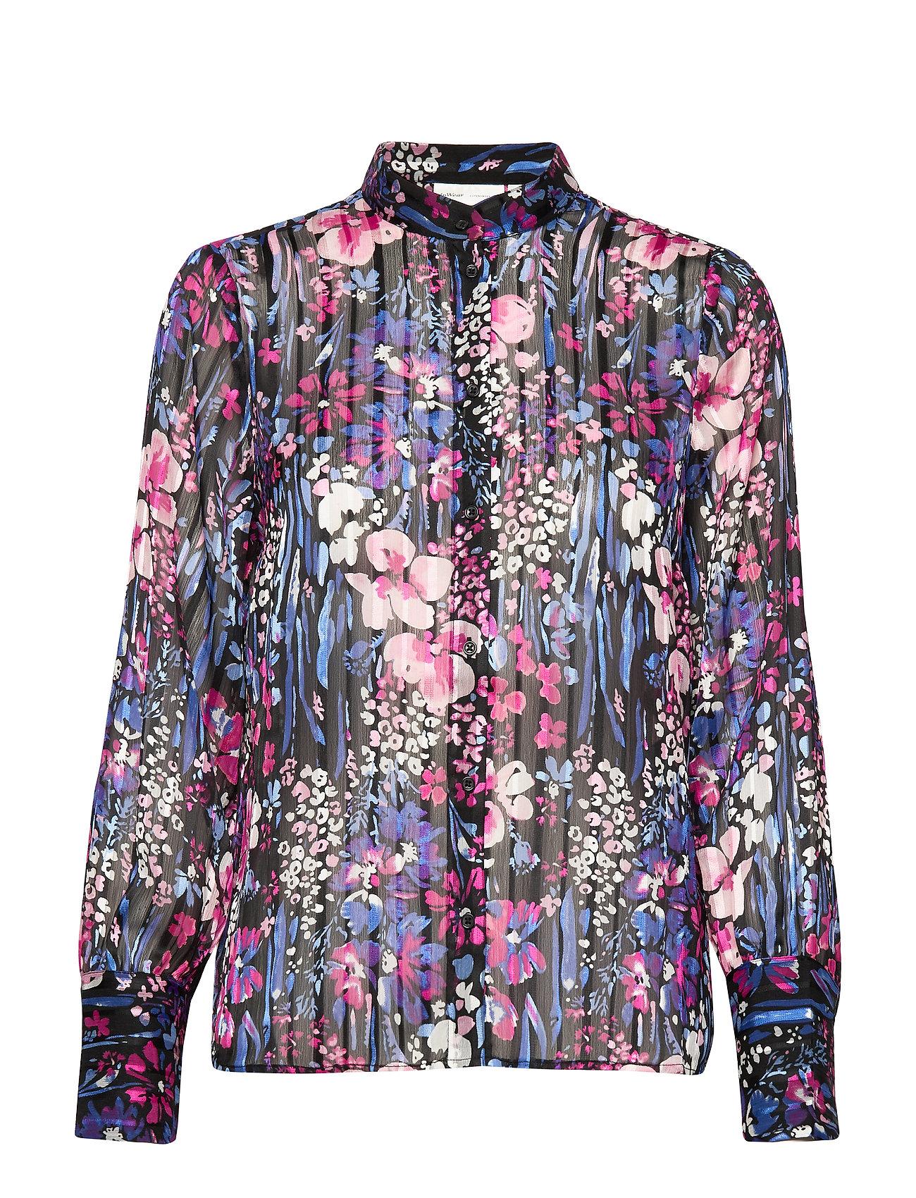InWear LondonIW Shirt - BLACK FLOWER EXPLOSION