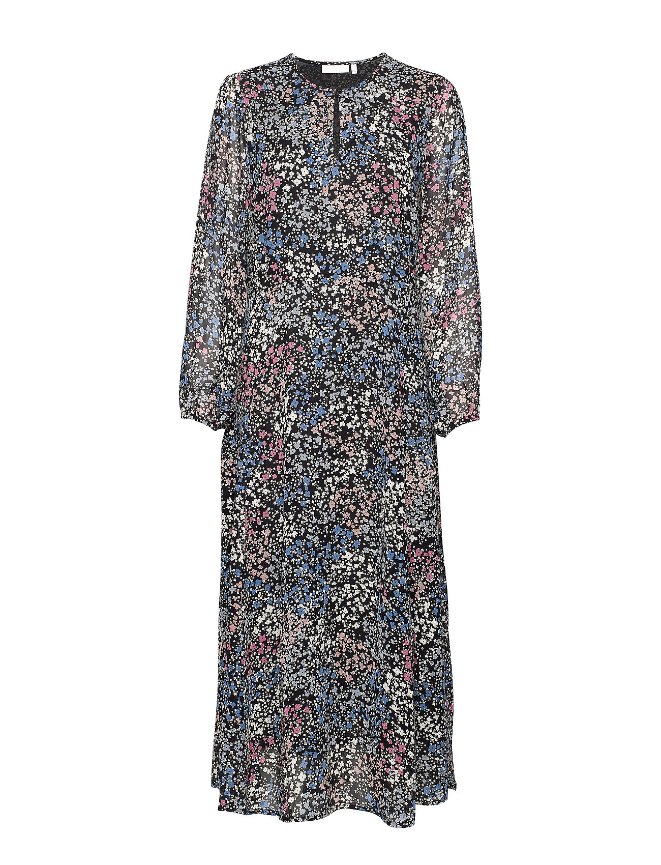InWear LylaIW Dress - BLACK DITSY FLOWER