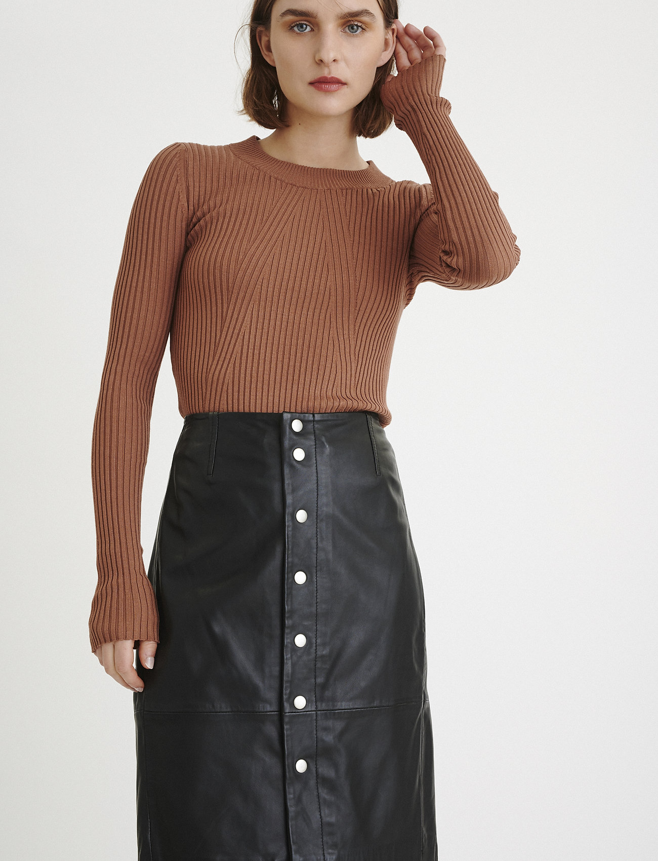InWear KathiIW Skirt - Skjørt BLACK - Dameklær Spesialtilbud