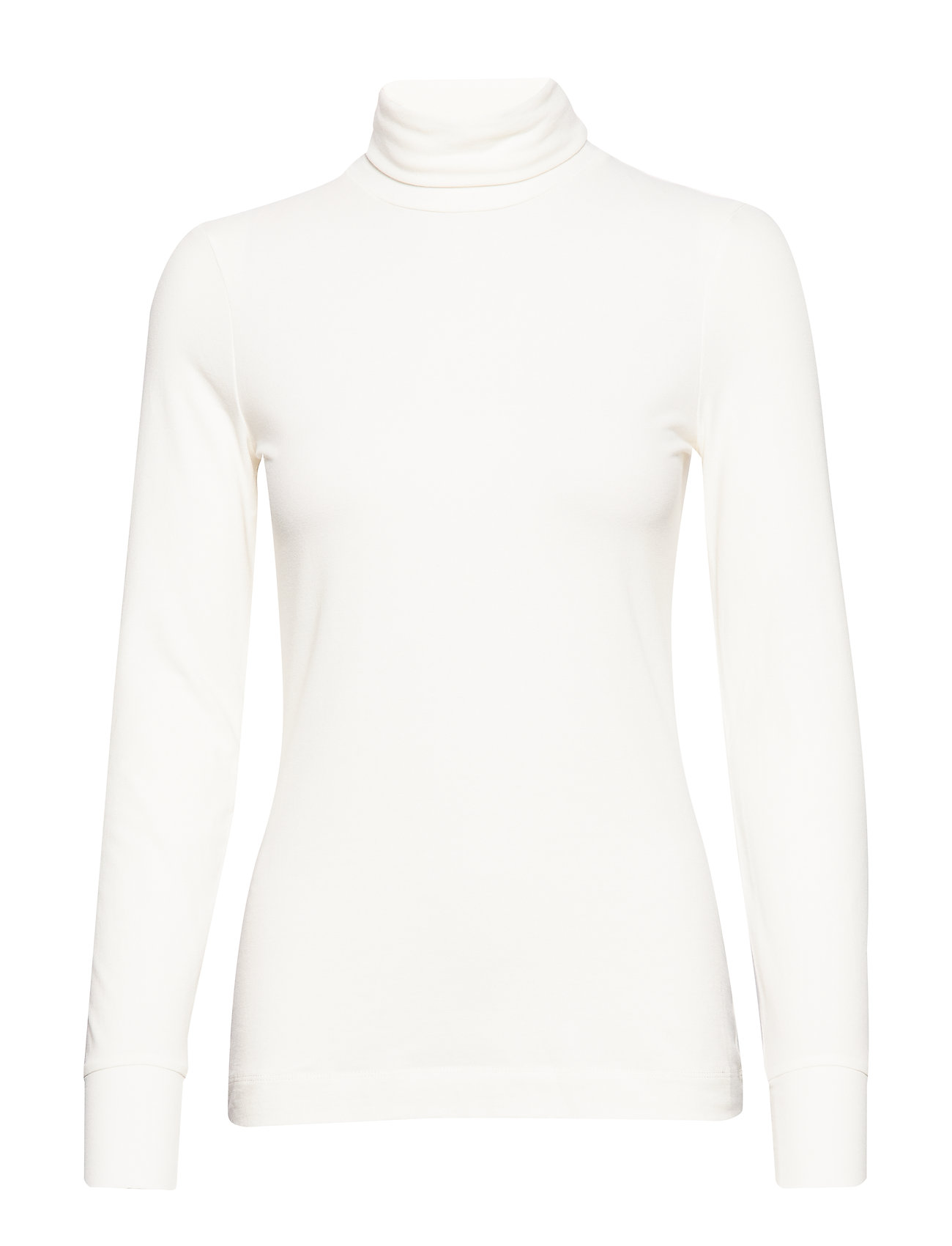 Fondaiw Rollneck Ls Langærmet T-shirt Hvid InWear