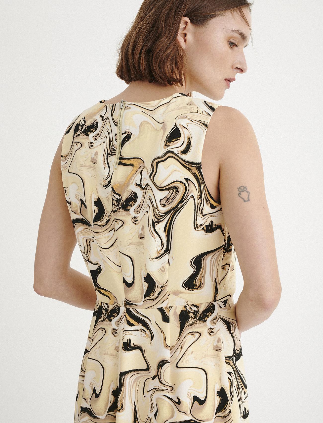 InWear KashaIW Dress - Kjoler YELLOW MARBLING - Dameklær Spesialtilbud