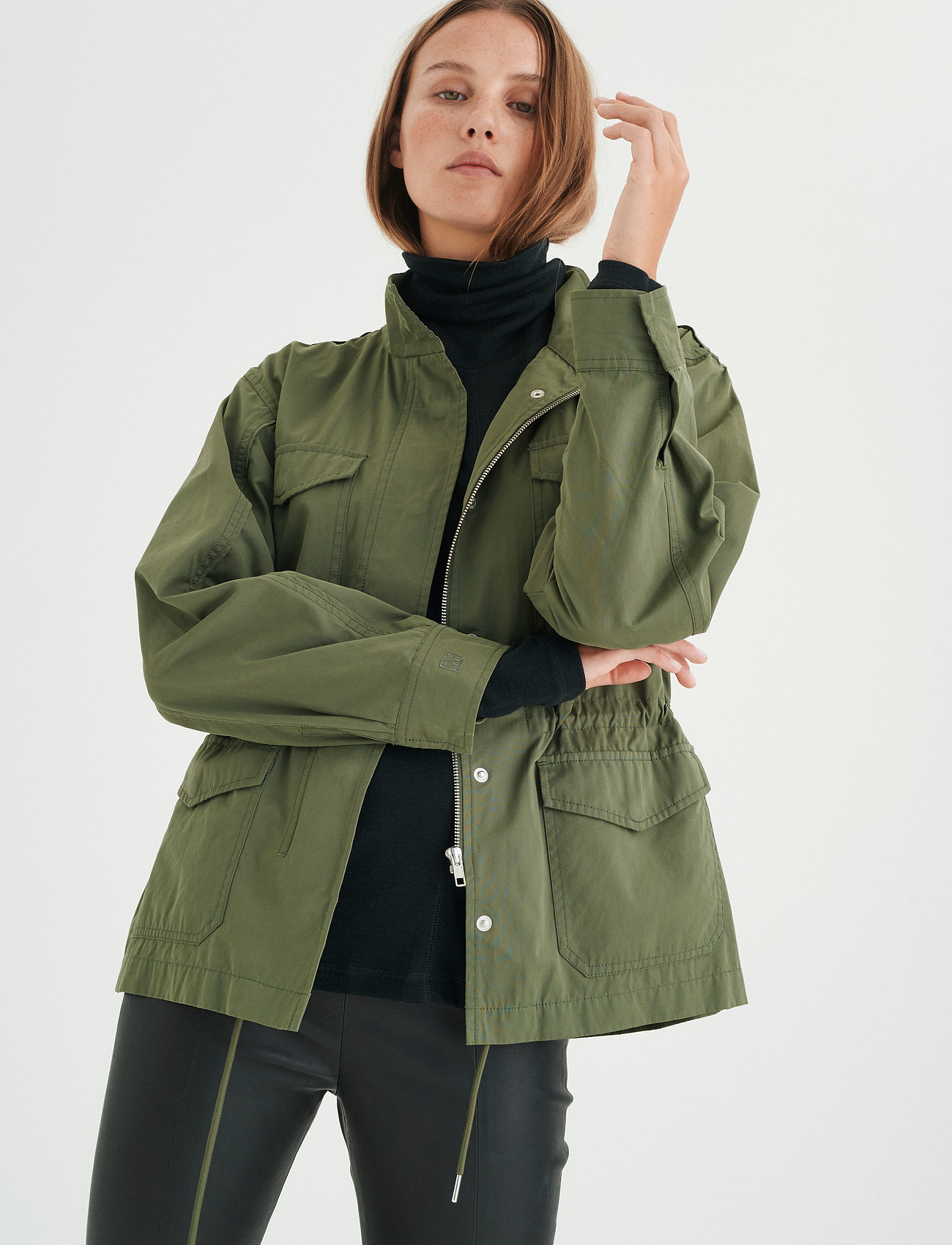 InWear - YumaIW Jacket - utility jassen - beetle green - 0