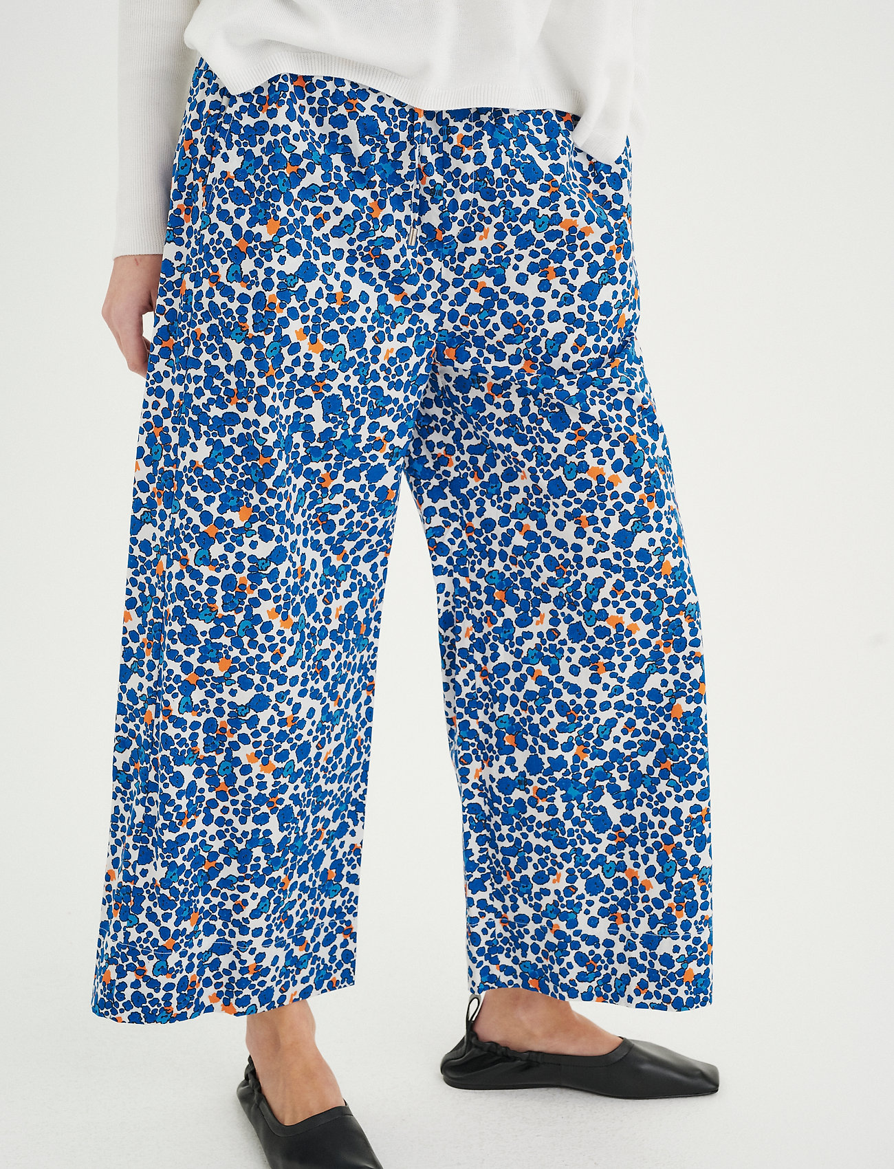 InWear - HarukaIW Pant - bukser med brede ben - dotted flowers - 0